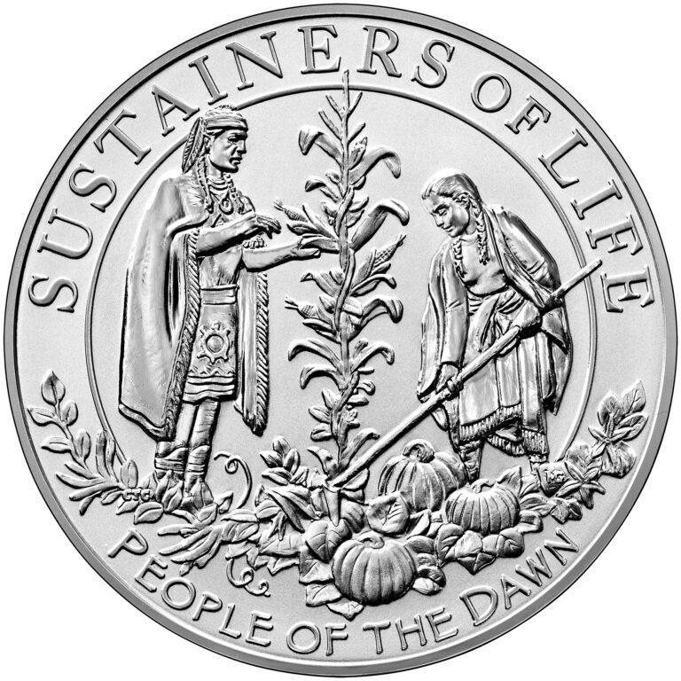 2020 Mayflower 400th Anniversary Silver Reverse Proof Medal Reverse