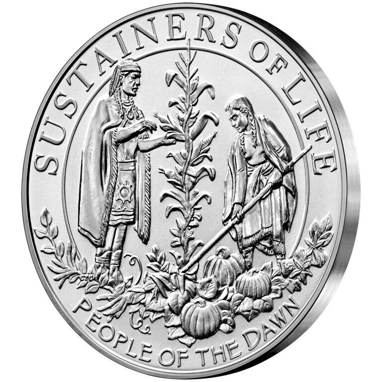 2020 Mayflower 400th Anniversary Silver Reverse Proof Medal Reverse Angle