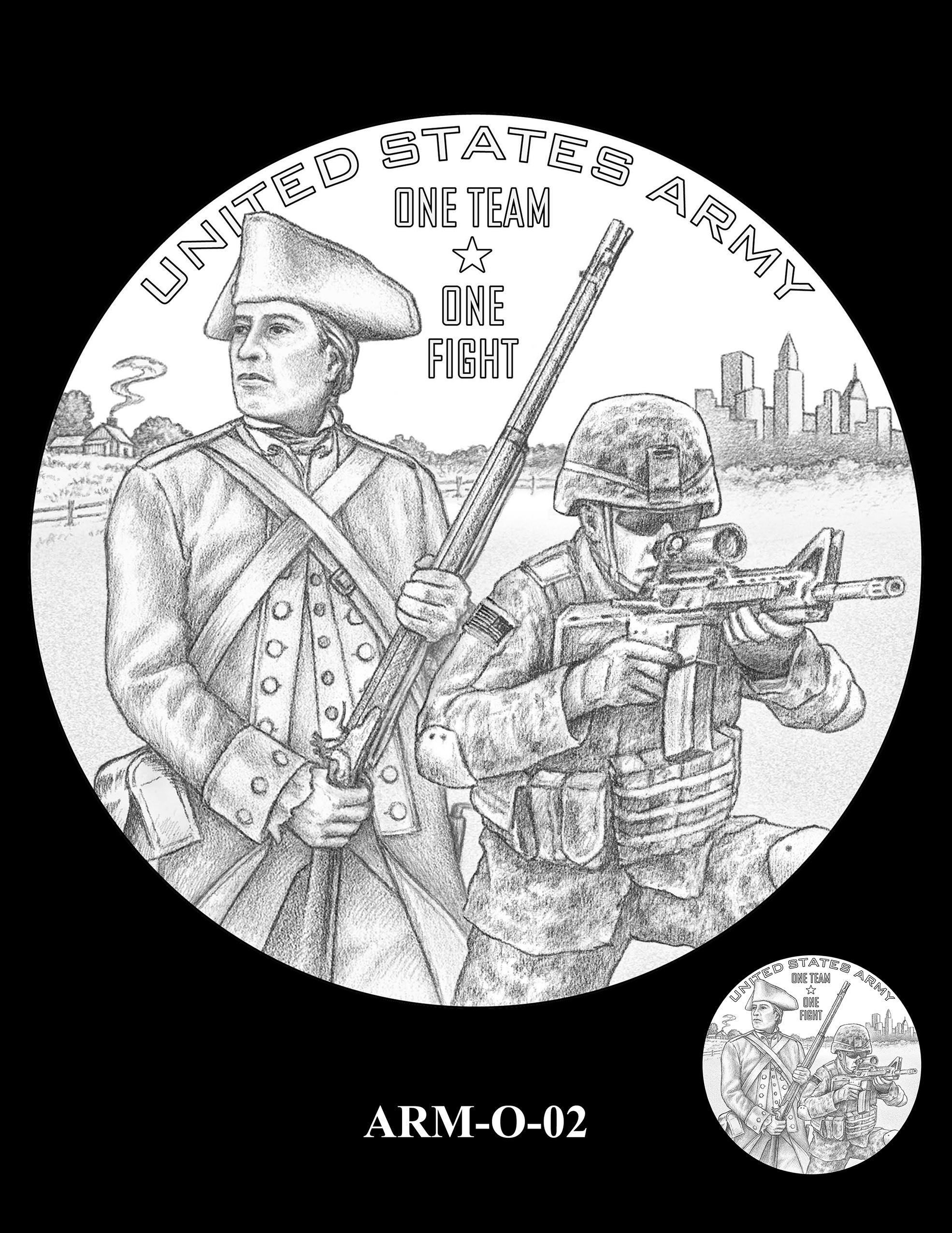 ARM-O-02 -- United States Army Silver Medal
