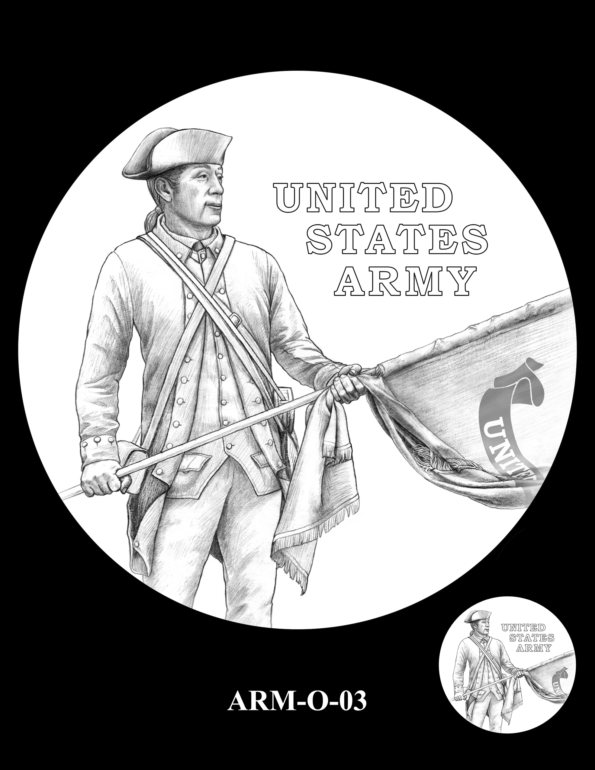 ARM-O-03 -- United States Army Silver Medal