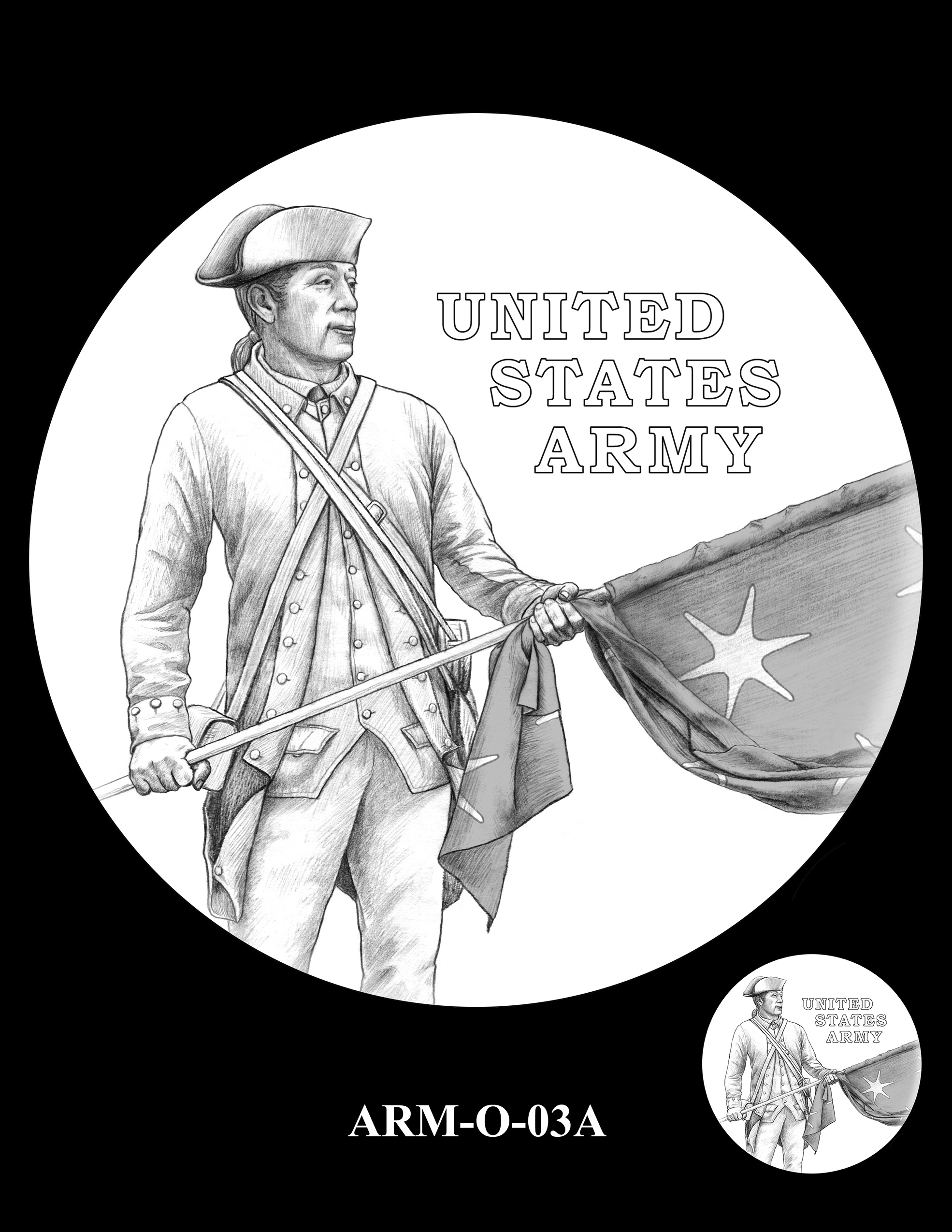 ARM-O-03A -- United States Army Silver Medal