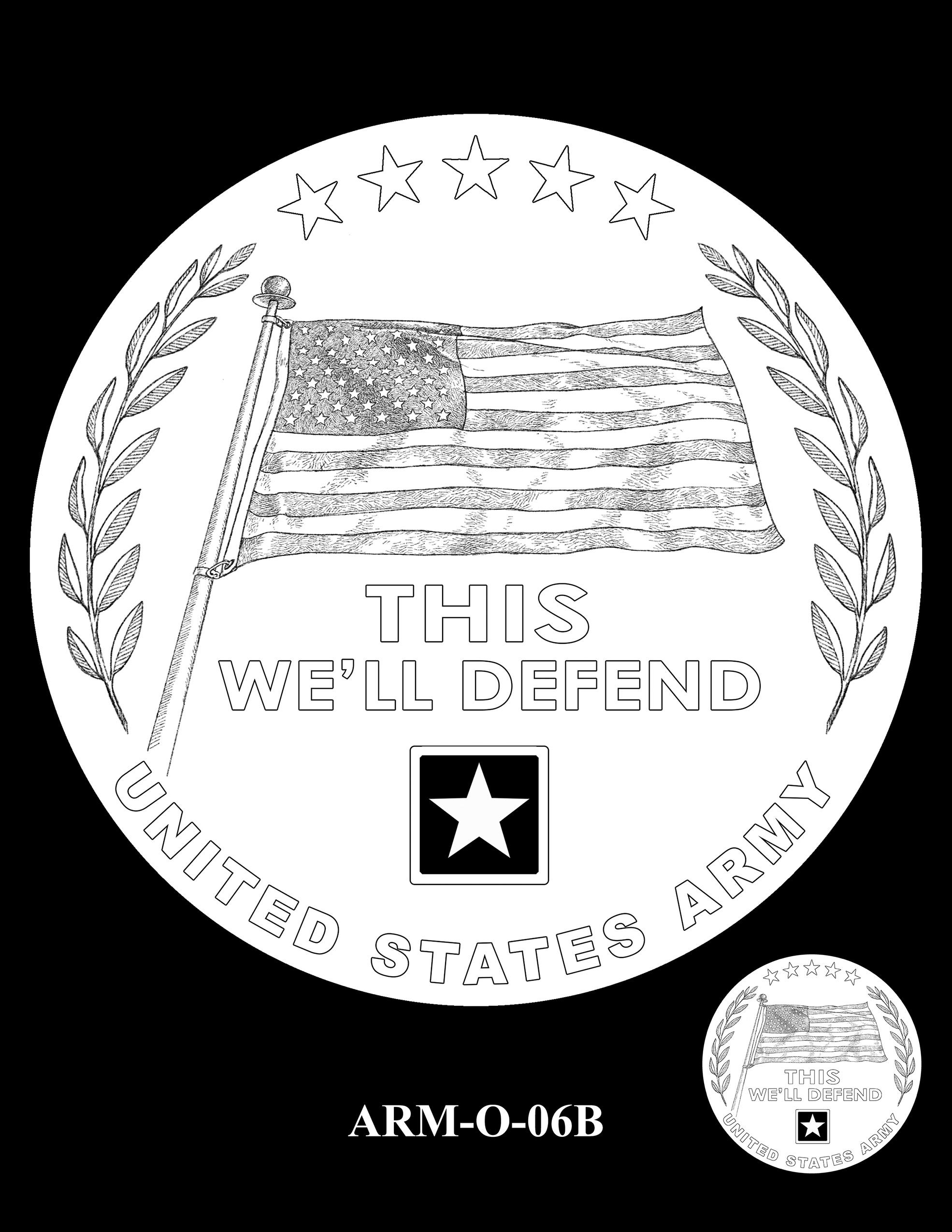 ARM-O-06B -- United States Army Silver Medal
