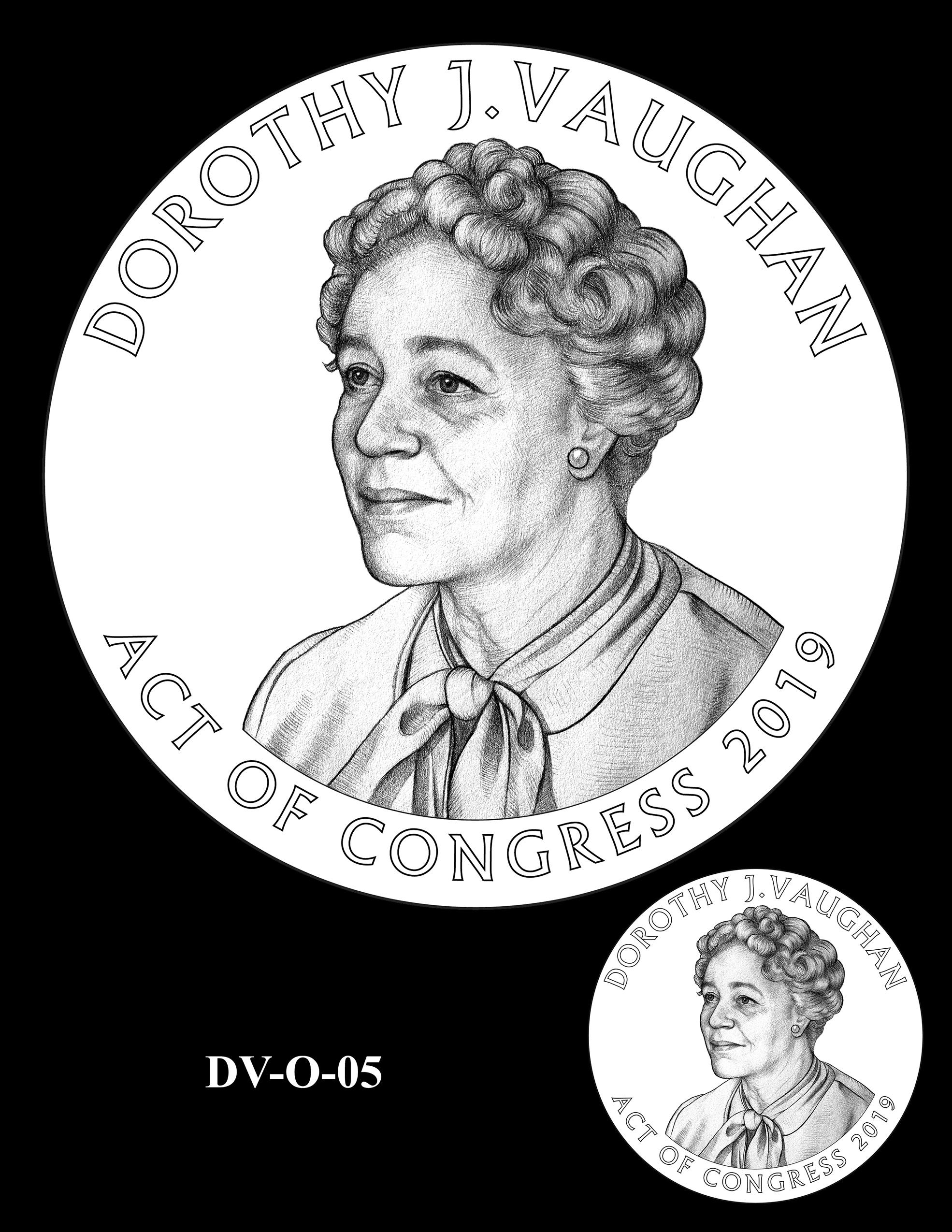 DV-O-05 -- Dorothy J. Vaughan Congressional Gold Medal