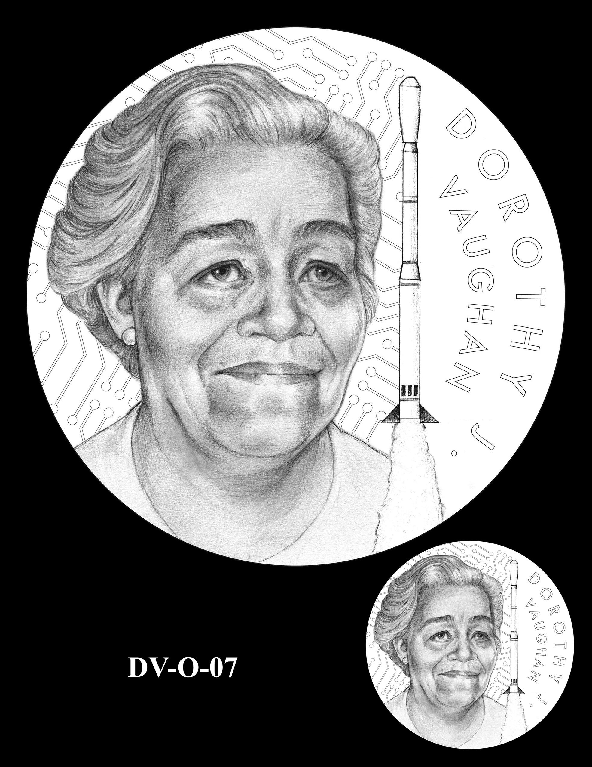DV-O-07 -- Dorothy J. Vaughan Congressional Gold Medal