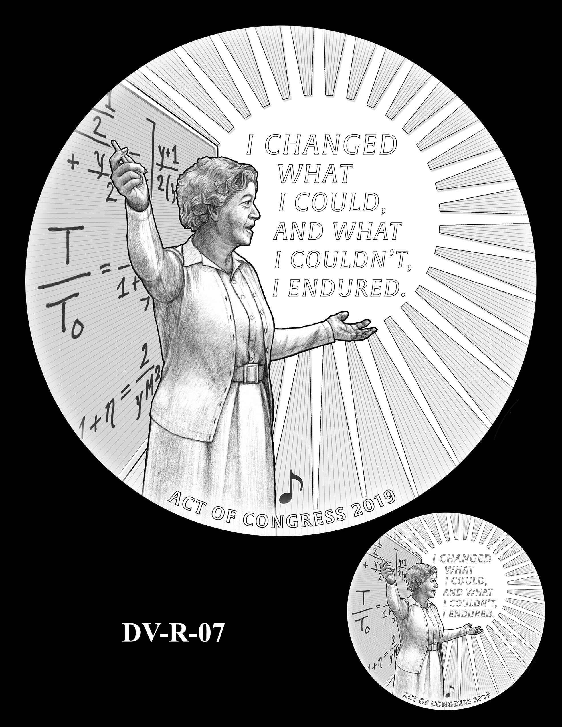 DV-R-07 -- Dorothy J. Vaughan Congressional Gold Medal