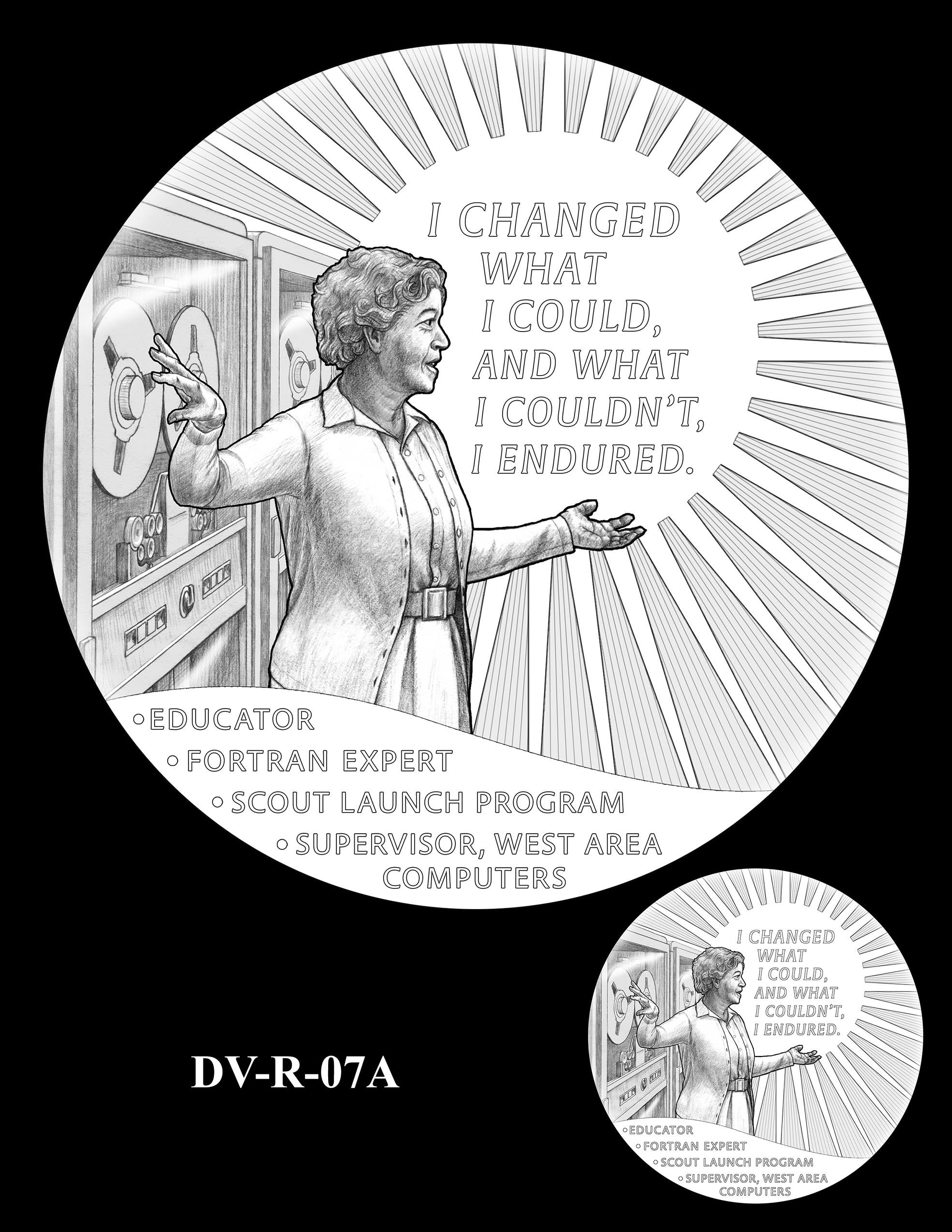 DV-R-07A -- Dorothy J. Vaughan Congressional Gold Medal
