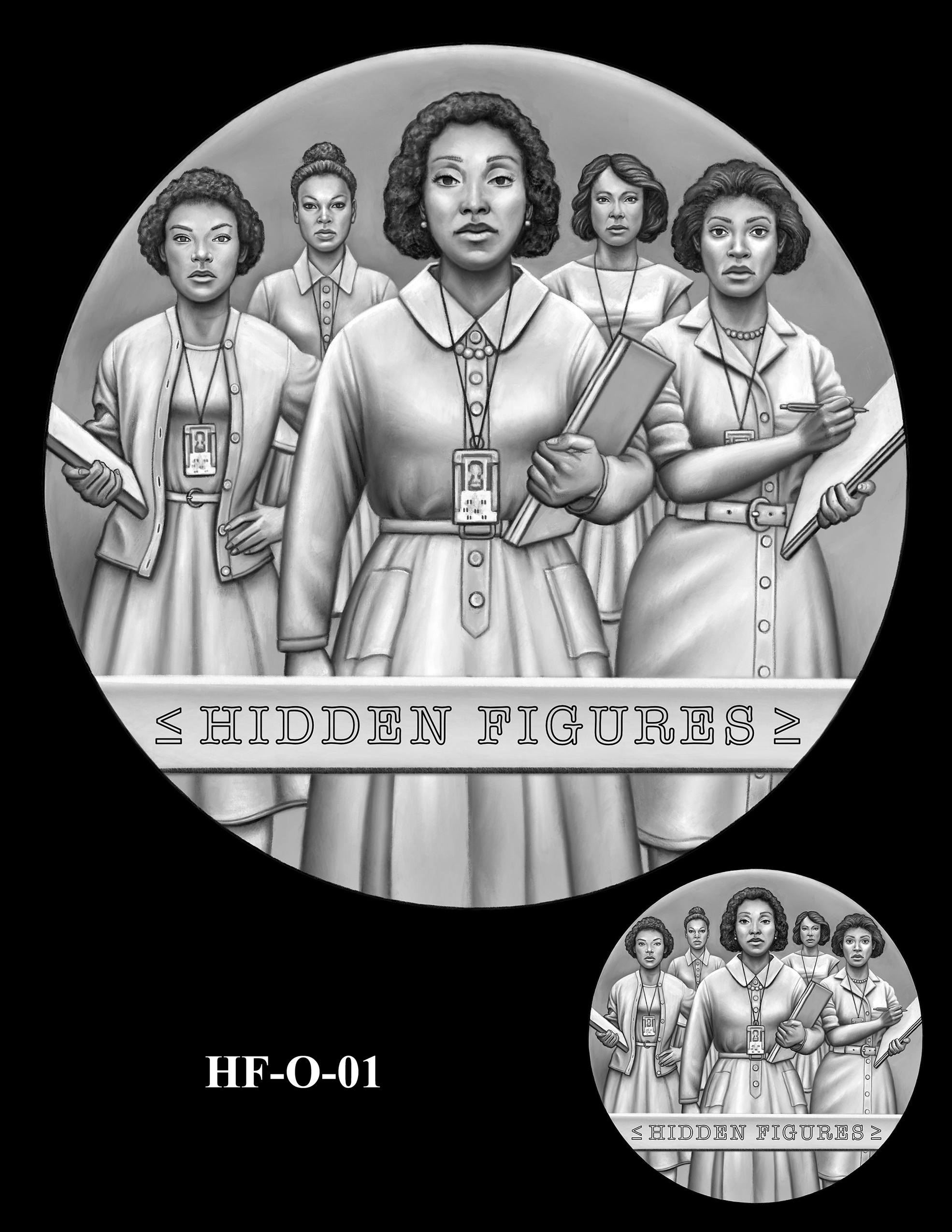 HF-O-01 -- Hidden Figures Group Congressional Gold Medal