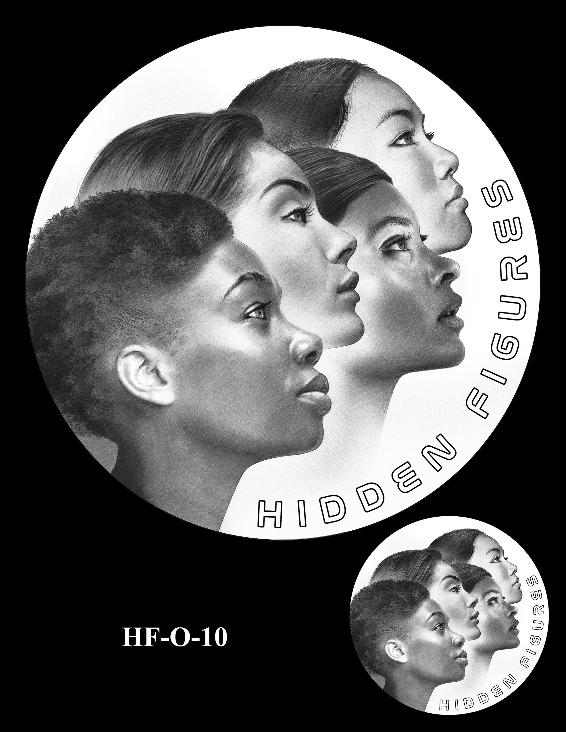 HF-O-10 -- Hidden Figures Group Congressional Gold Medal