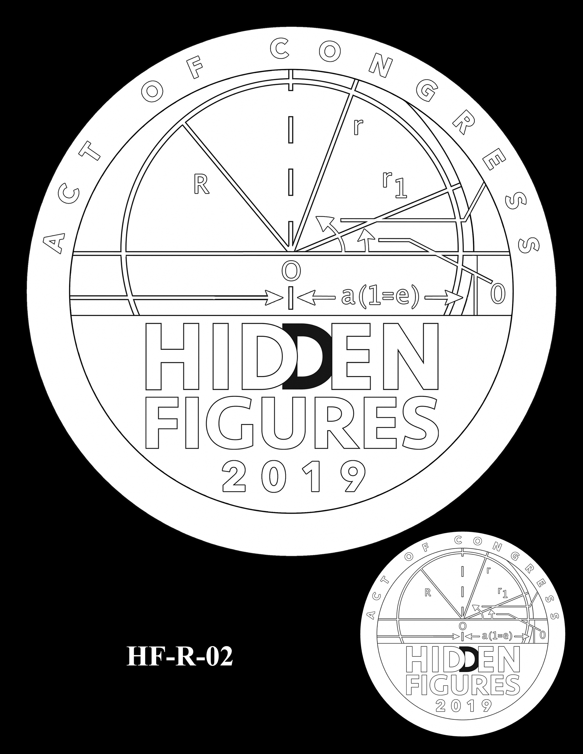 HF-R-02 -- Hidden Figures Group Congressional Gold Medal