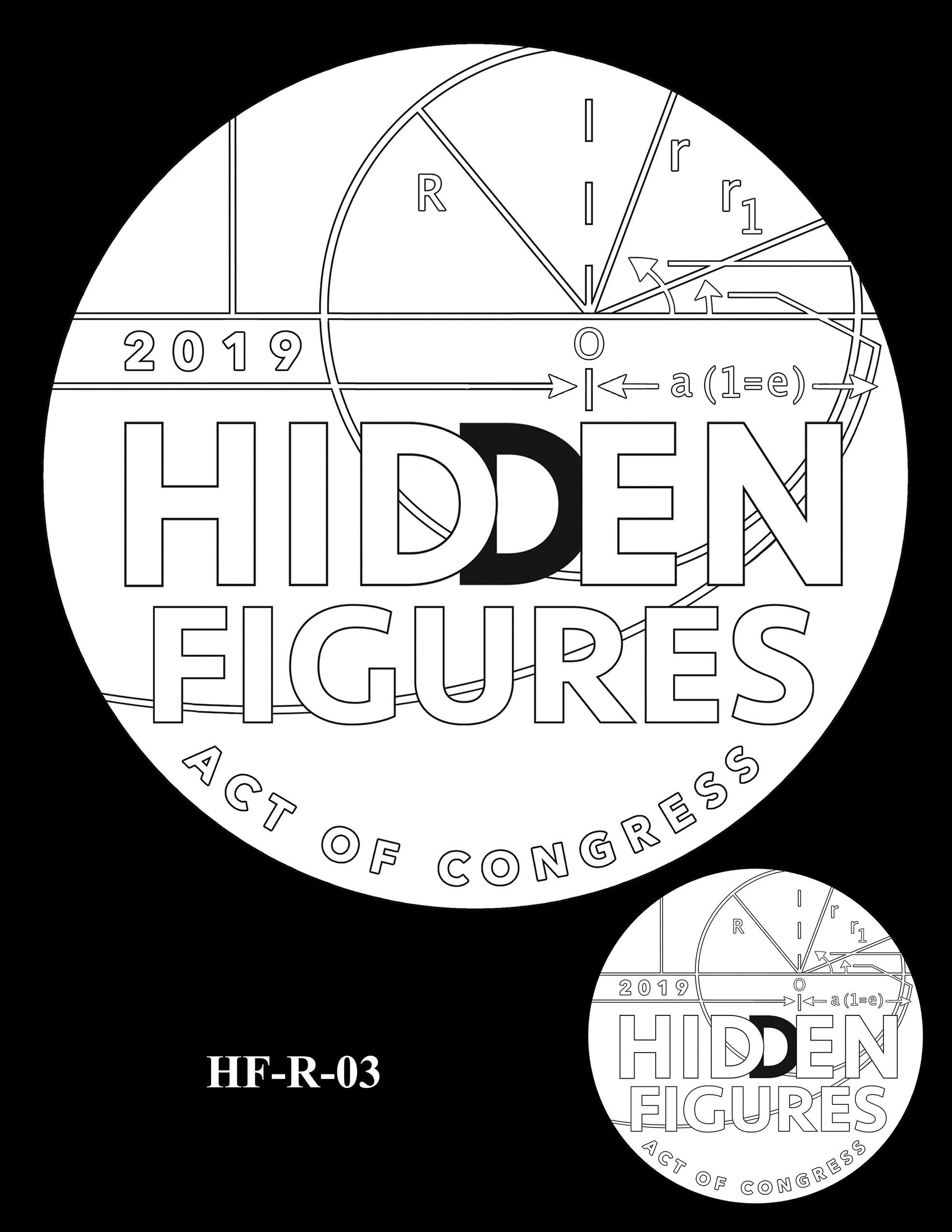 HF-R-03 -- Hidden Figures Group Congressional Gold Medal