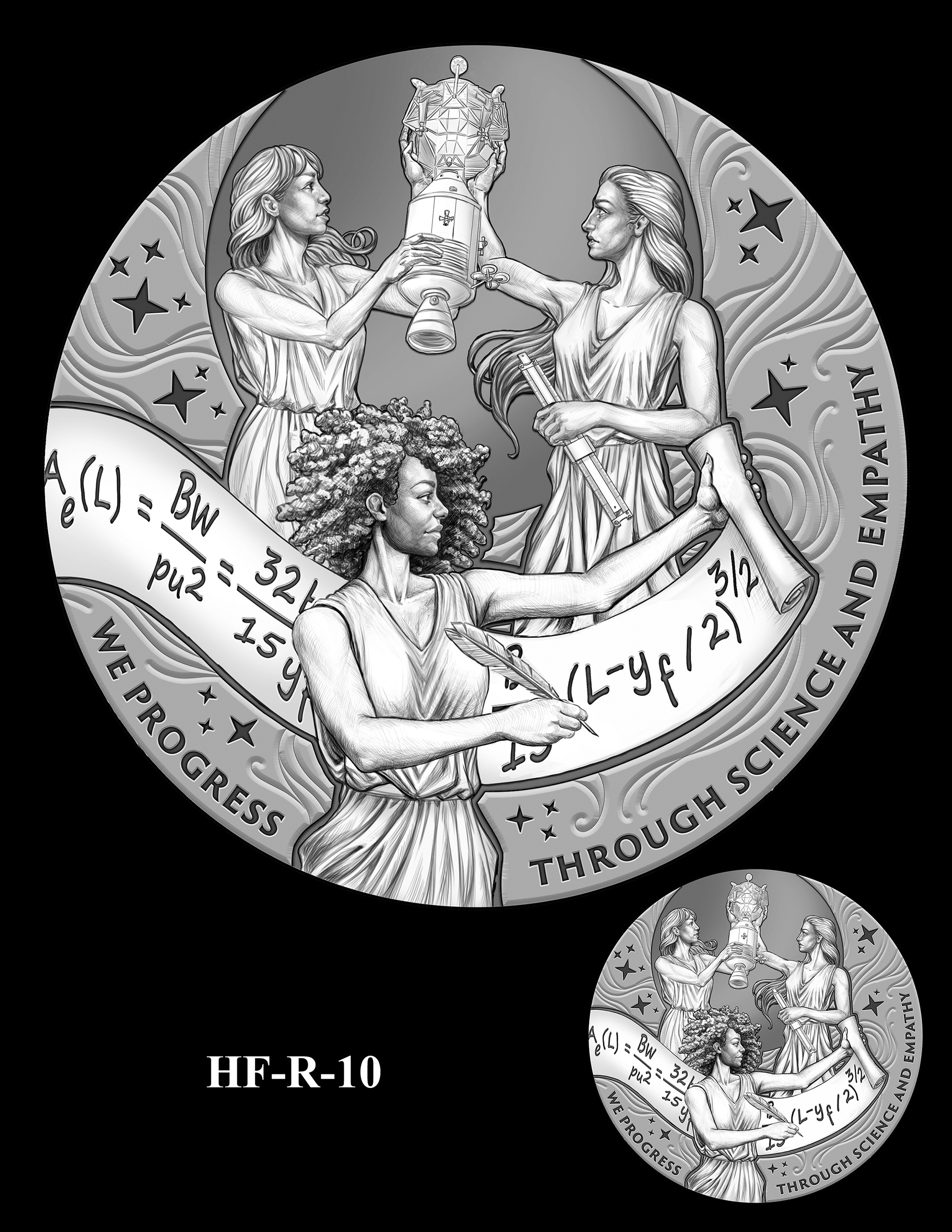 HF-R-10 -- Hidden Figures Group Congressional Gold Medal