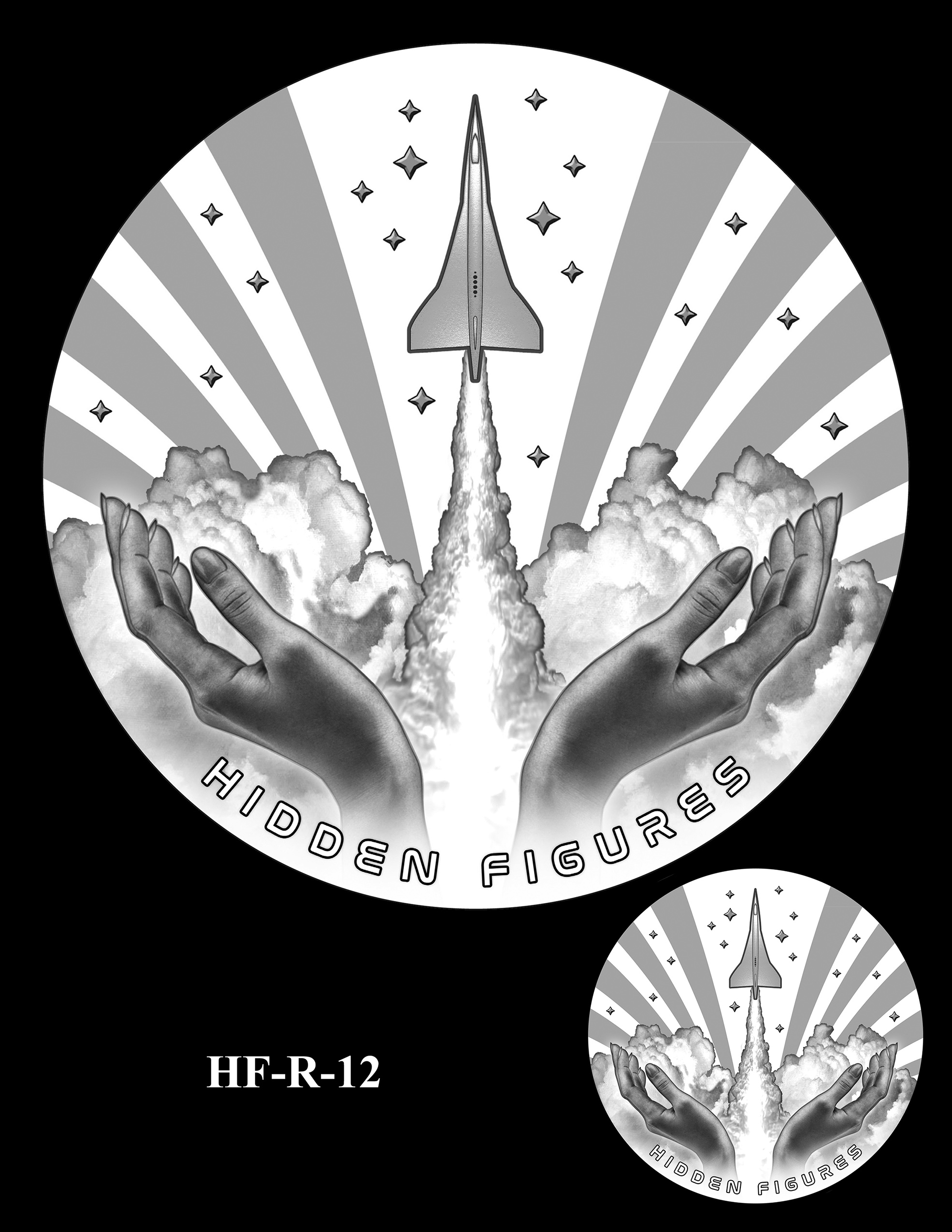 HF-R-12 -- Hidden Figures Group Congressional Gold Medal