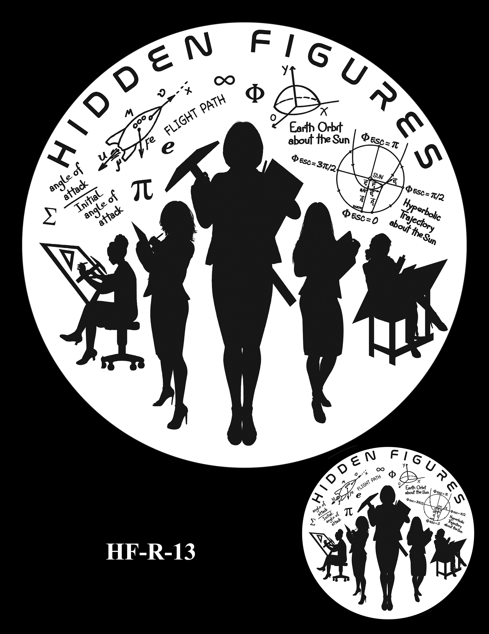HF-R-13 -- Hidden Figures Group Congressional Gold Medal