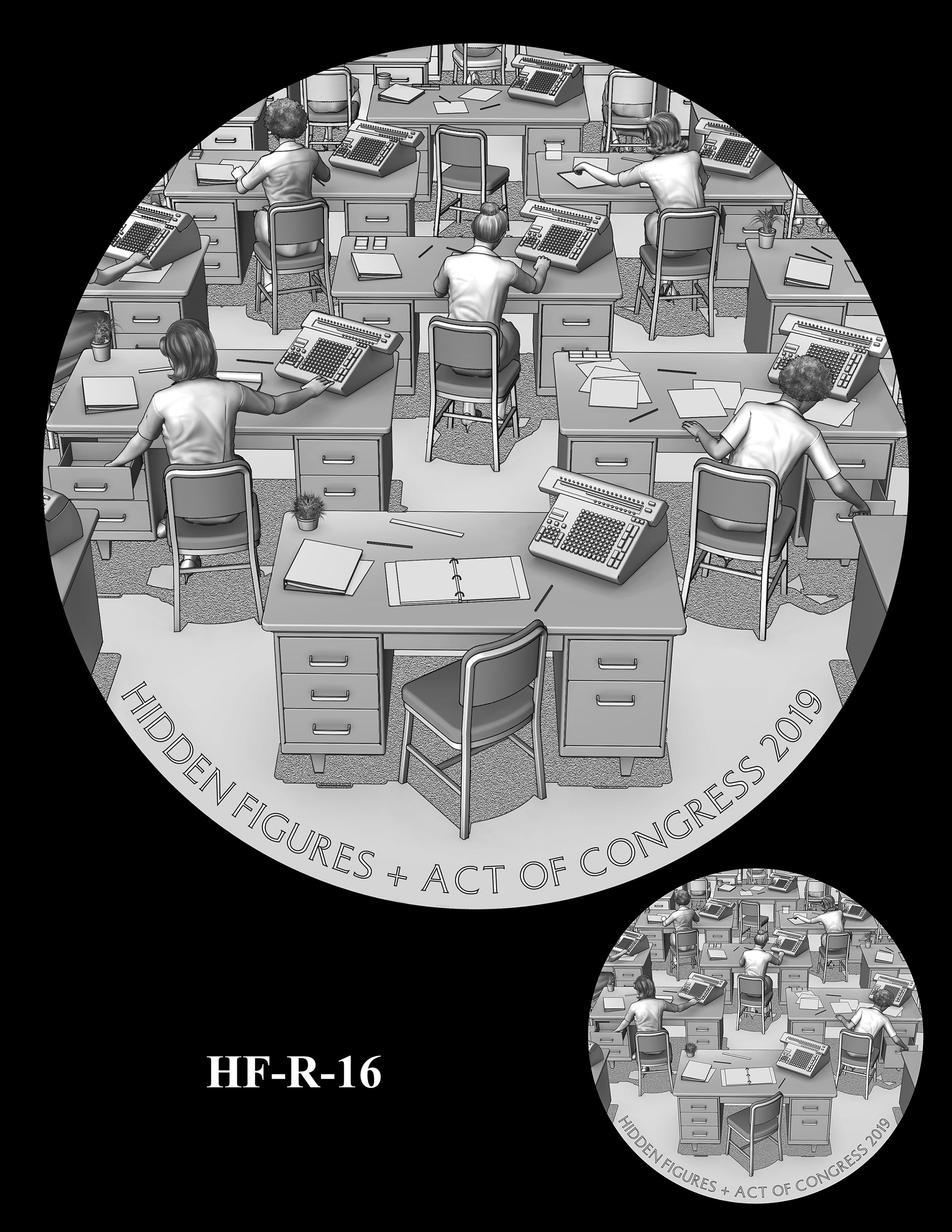 HF-R-16 -- Hidden Figures Group Congressional Gold Medal