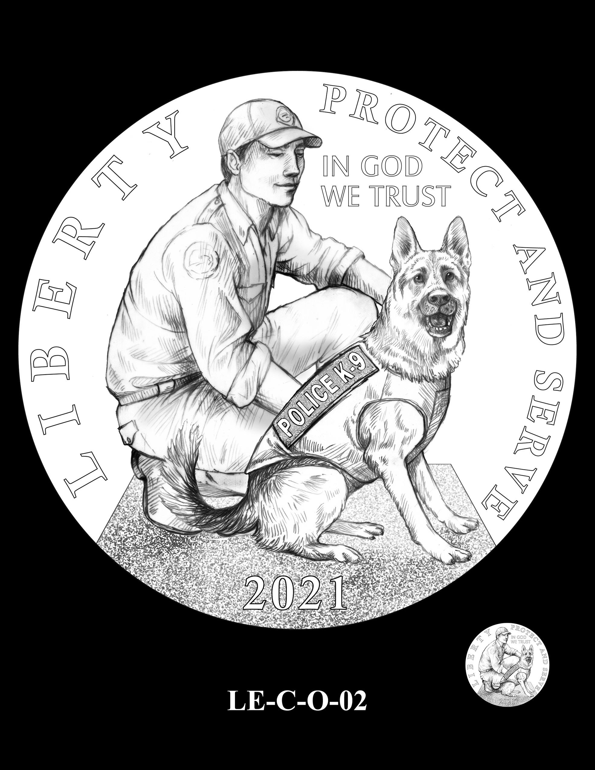LE-C-O-02 -- National Law Enforcement Museum Commemorative Coin Program