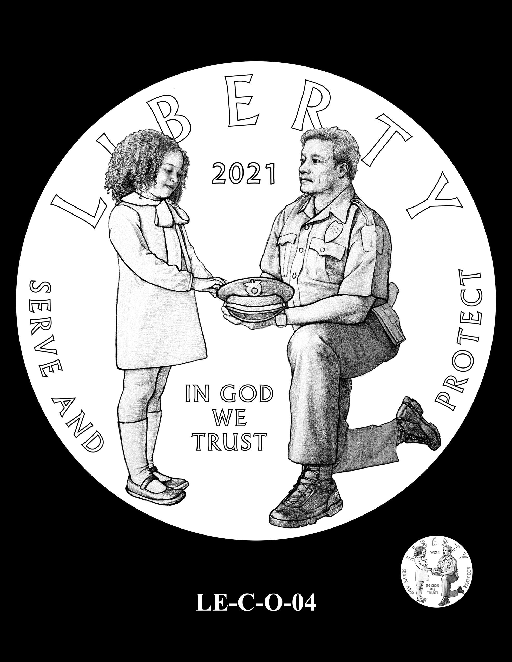 LE-C-O-04 -- National Law Enforcement Museum Commemorative Coin Program
