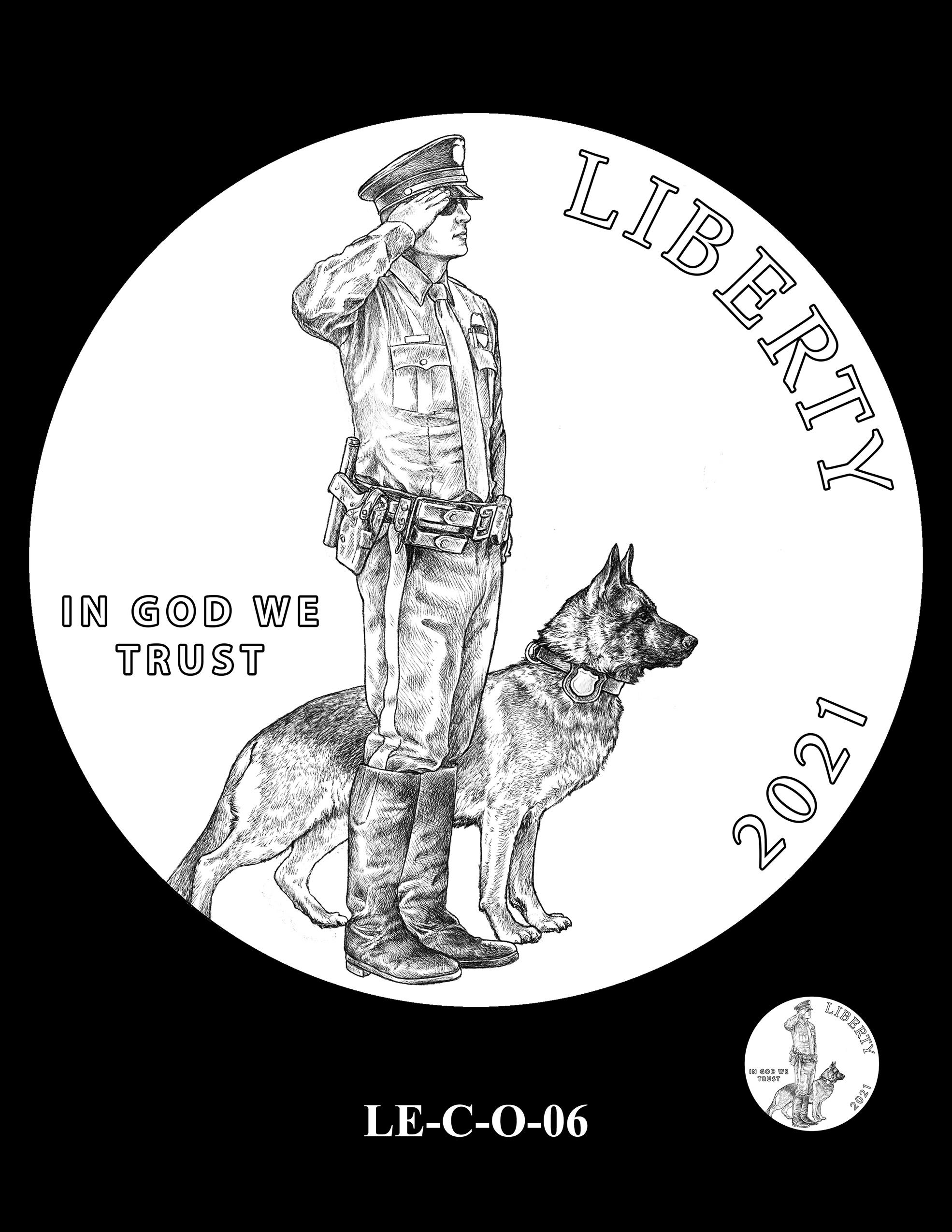 LE-C-O-06 -- National Law Enforcement Museum Commemorative Coin Program
