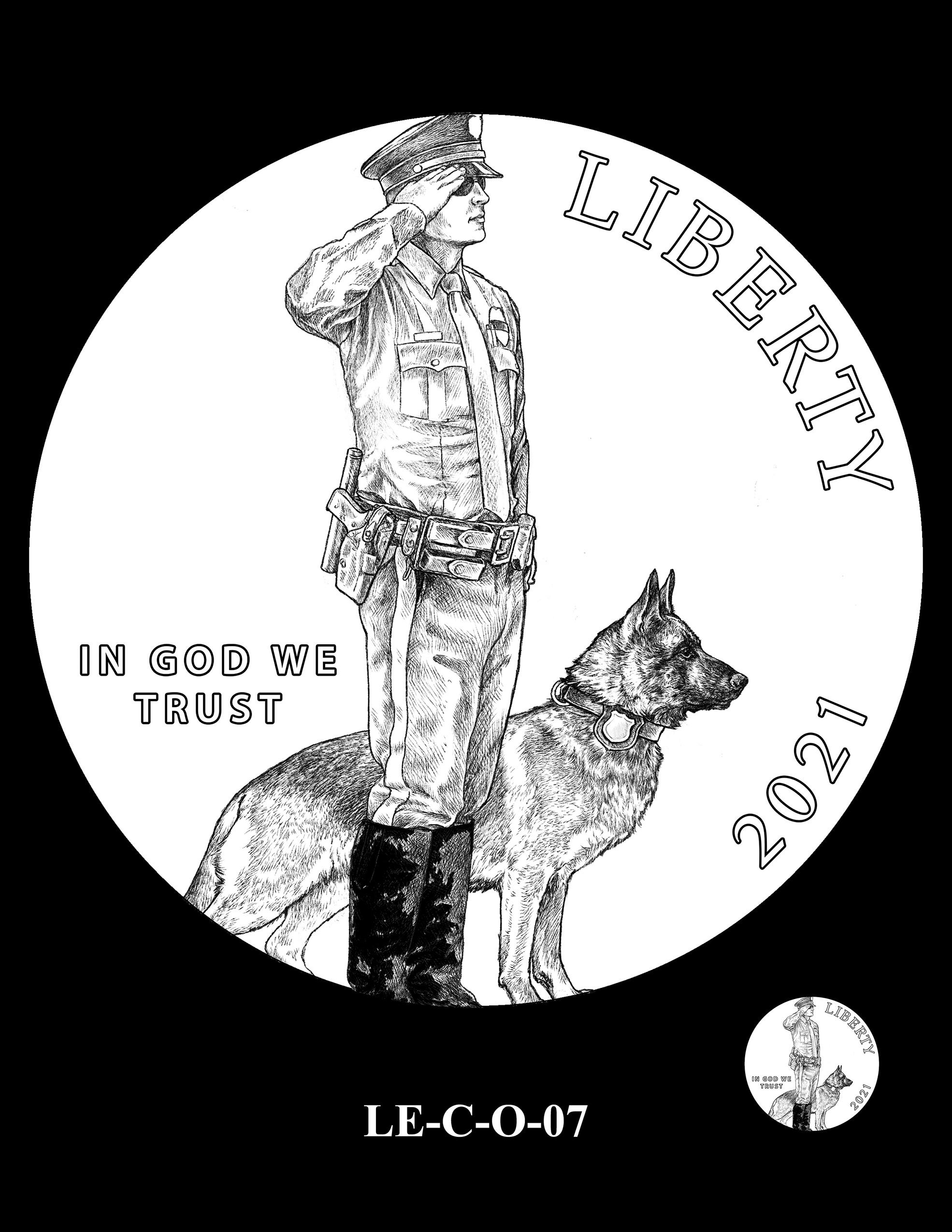 LE-C-O-07 -- National Law Enforcement Museum Commemorative Coin Program
