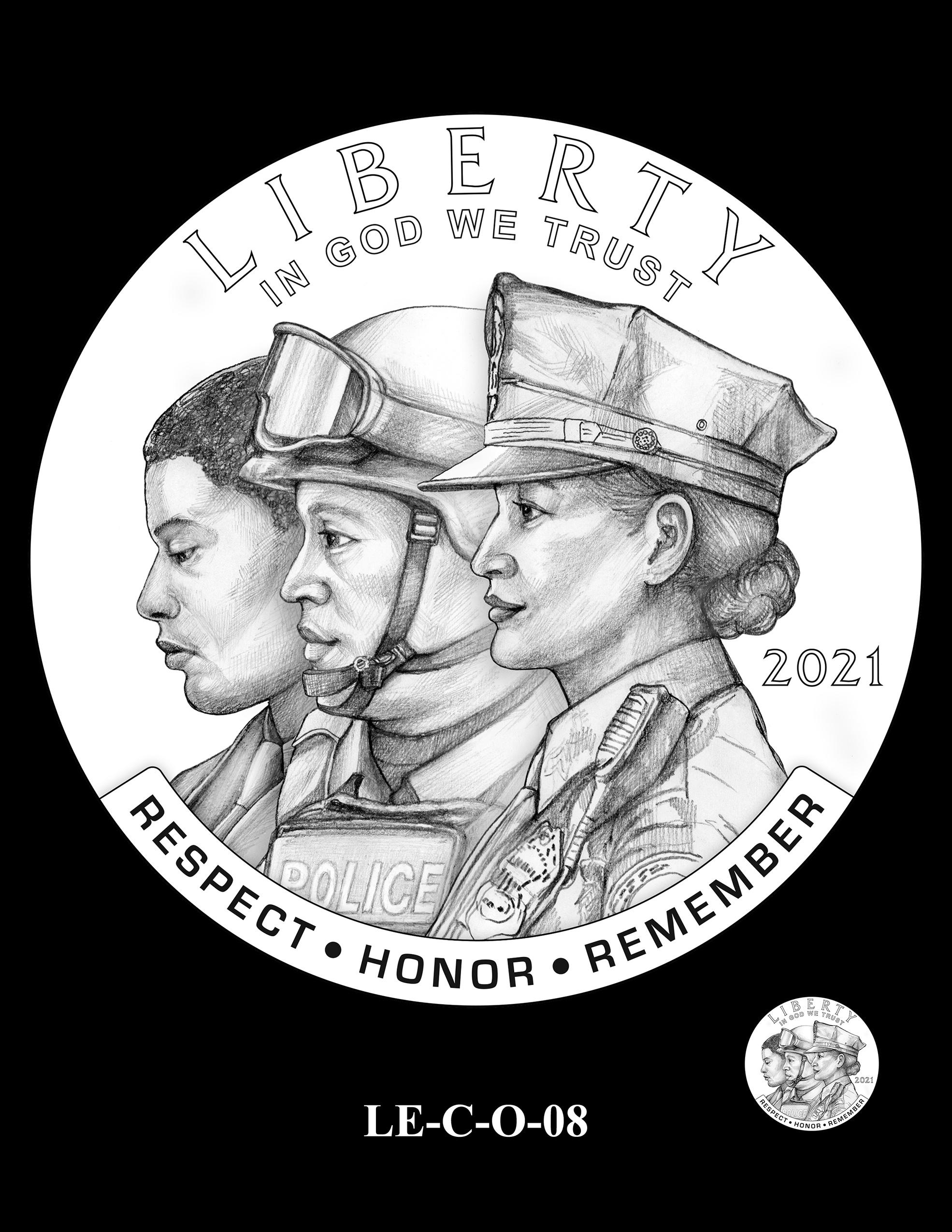 LE-C-O-08 -- National Law Enforcement Museum Commemorative Coin Program