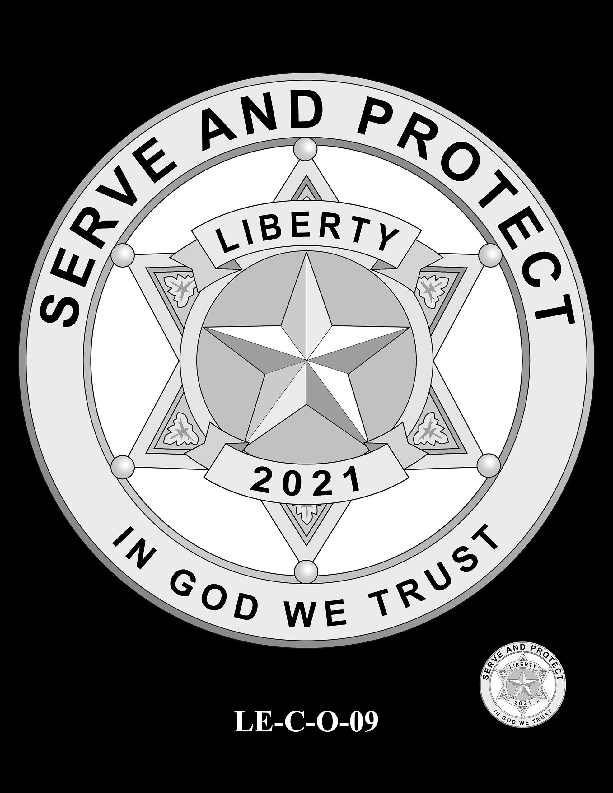 LE-C-O-09 -- National Law Enforcement Museum Commemorative Coin Program