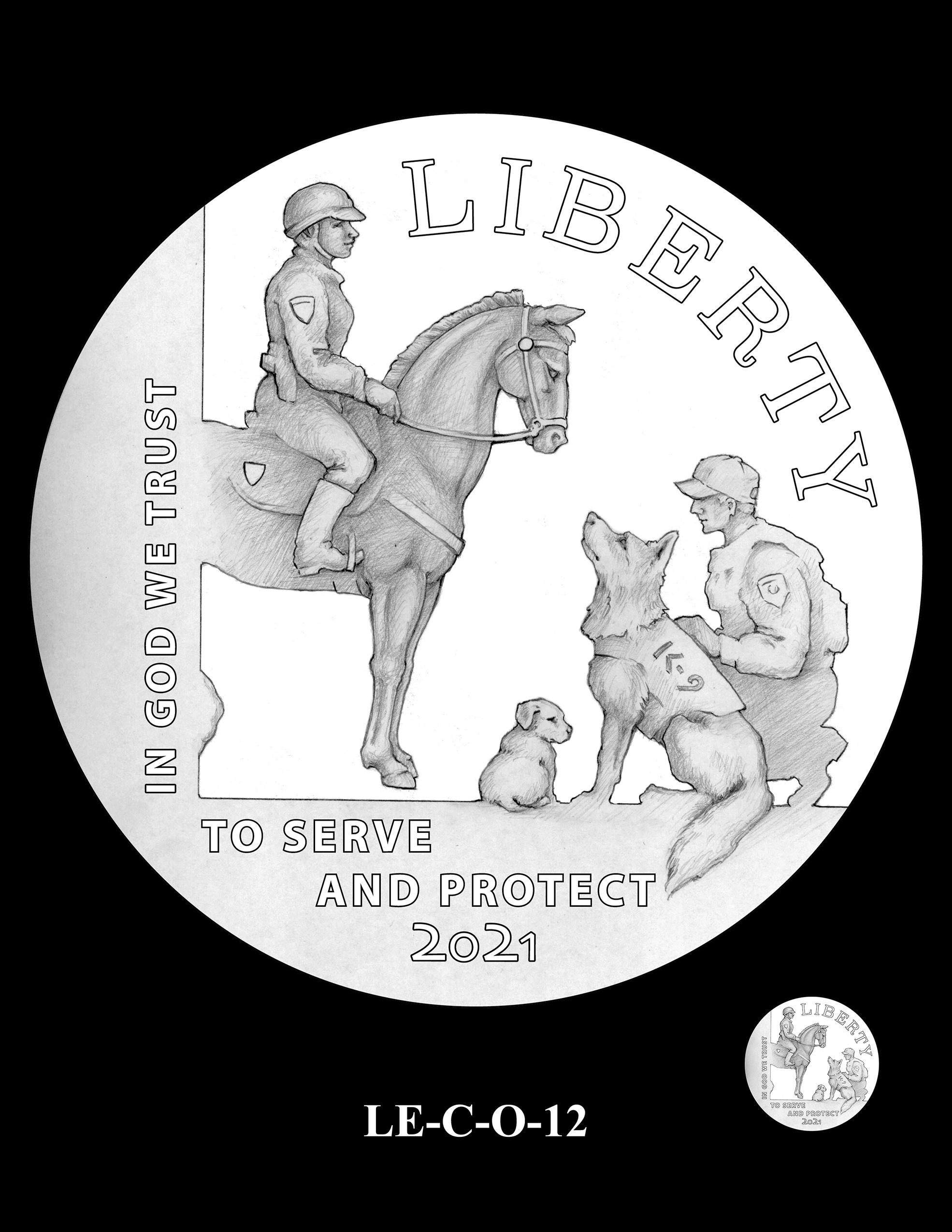 LE-C-O-12 -- National Law Enforcement Museum Commemorative Coin Program