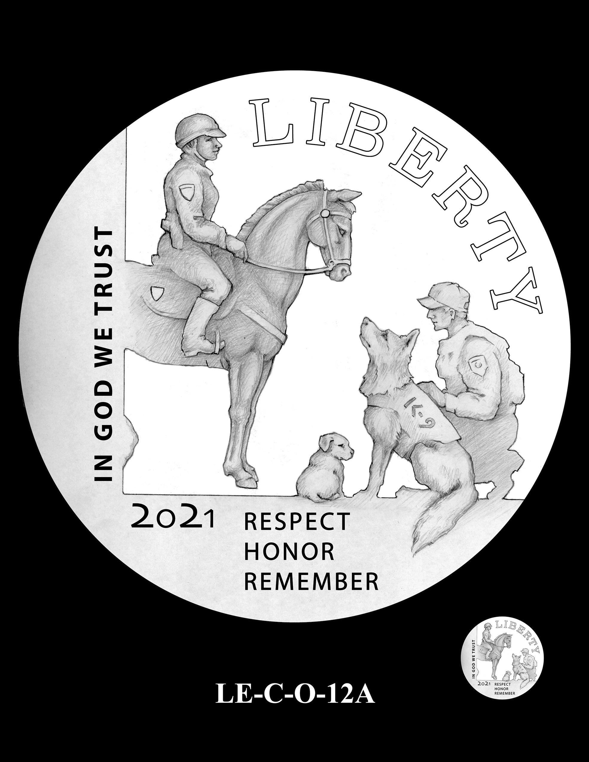 LE-C-O-12A -- National Law Enforcement Museum Commemorative Coin Program