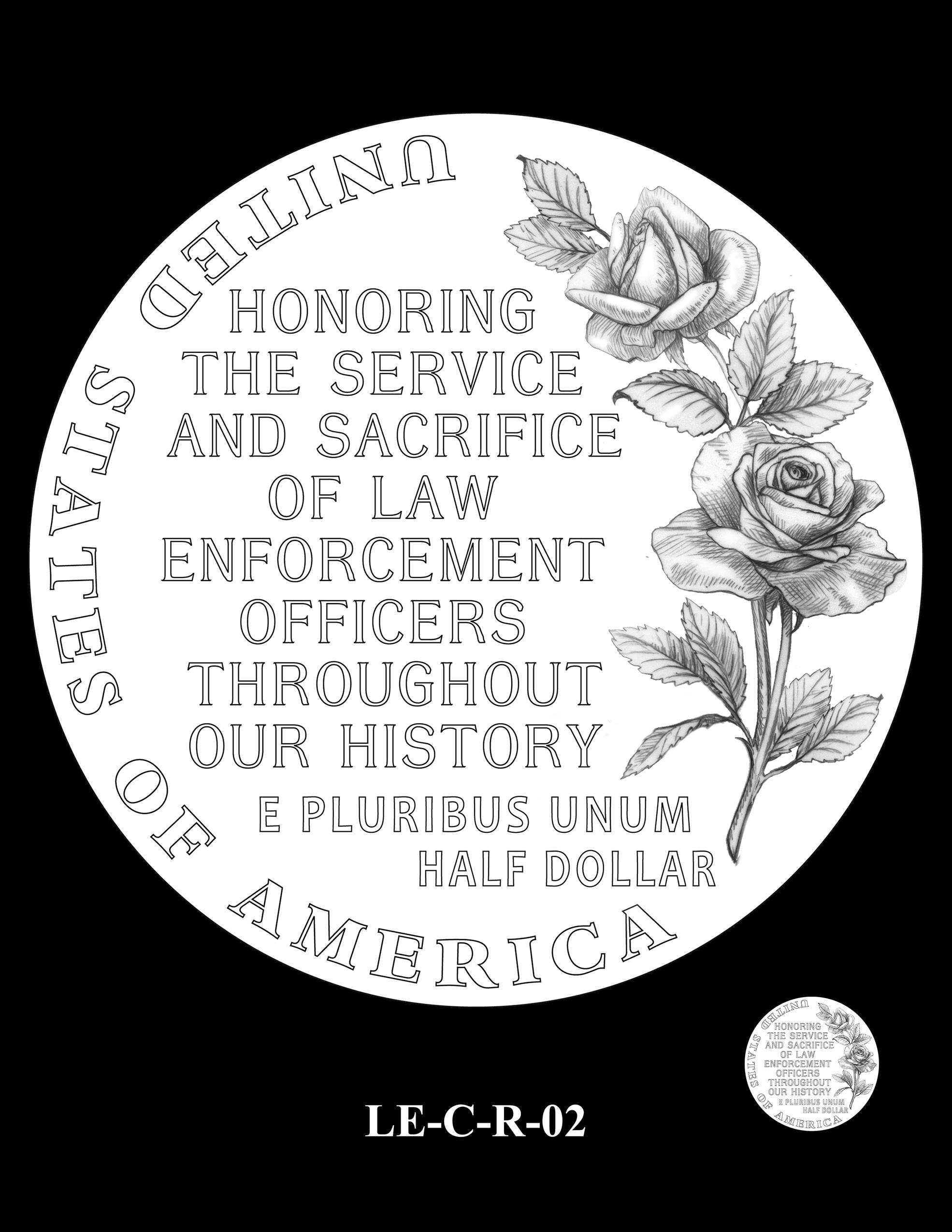 LE-C-R-02 -- National Law Enforcement Museum Commemorative Coin Program