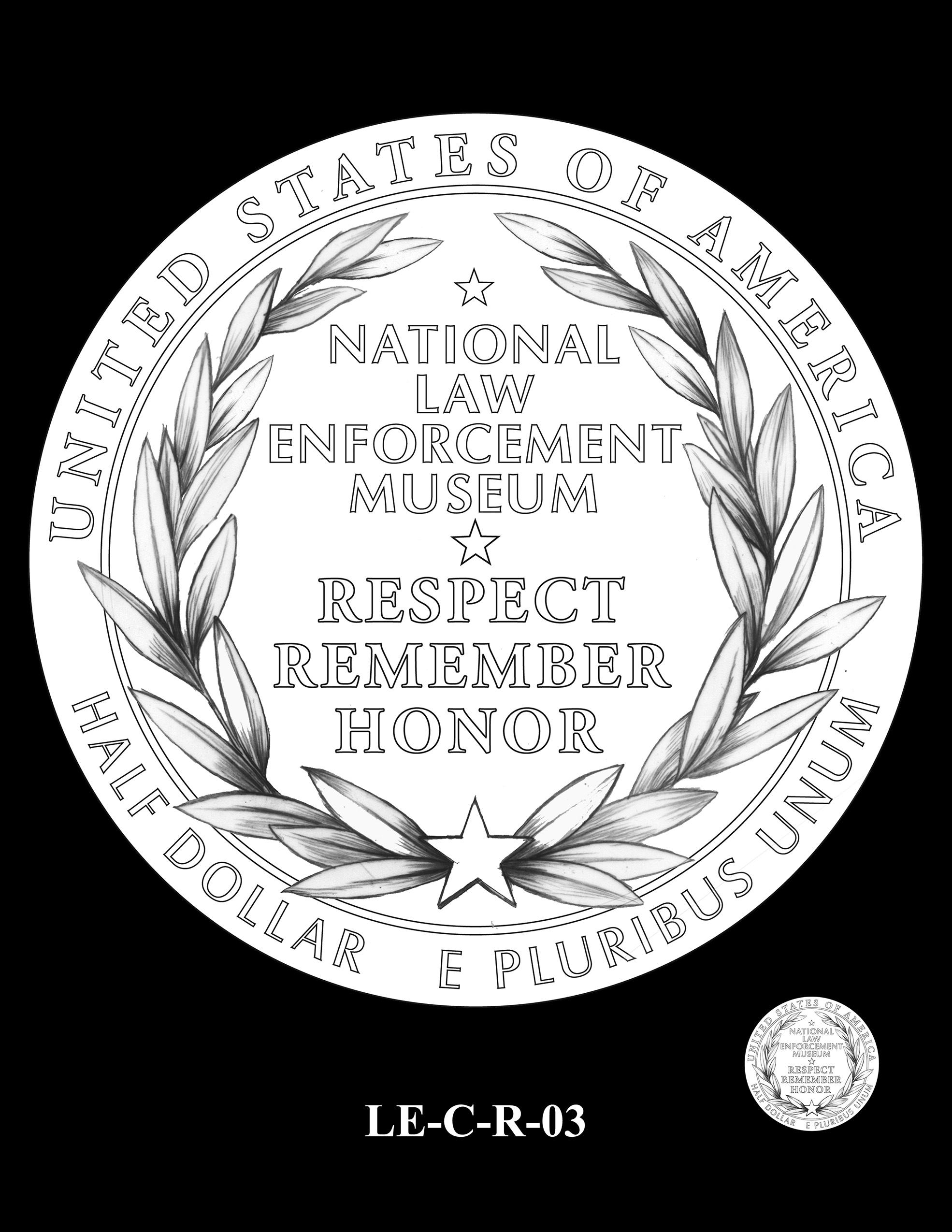 LE-C-R-03 -- National Law Enforcement Museum Commemorative Coin Program