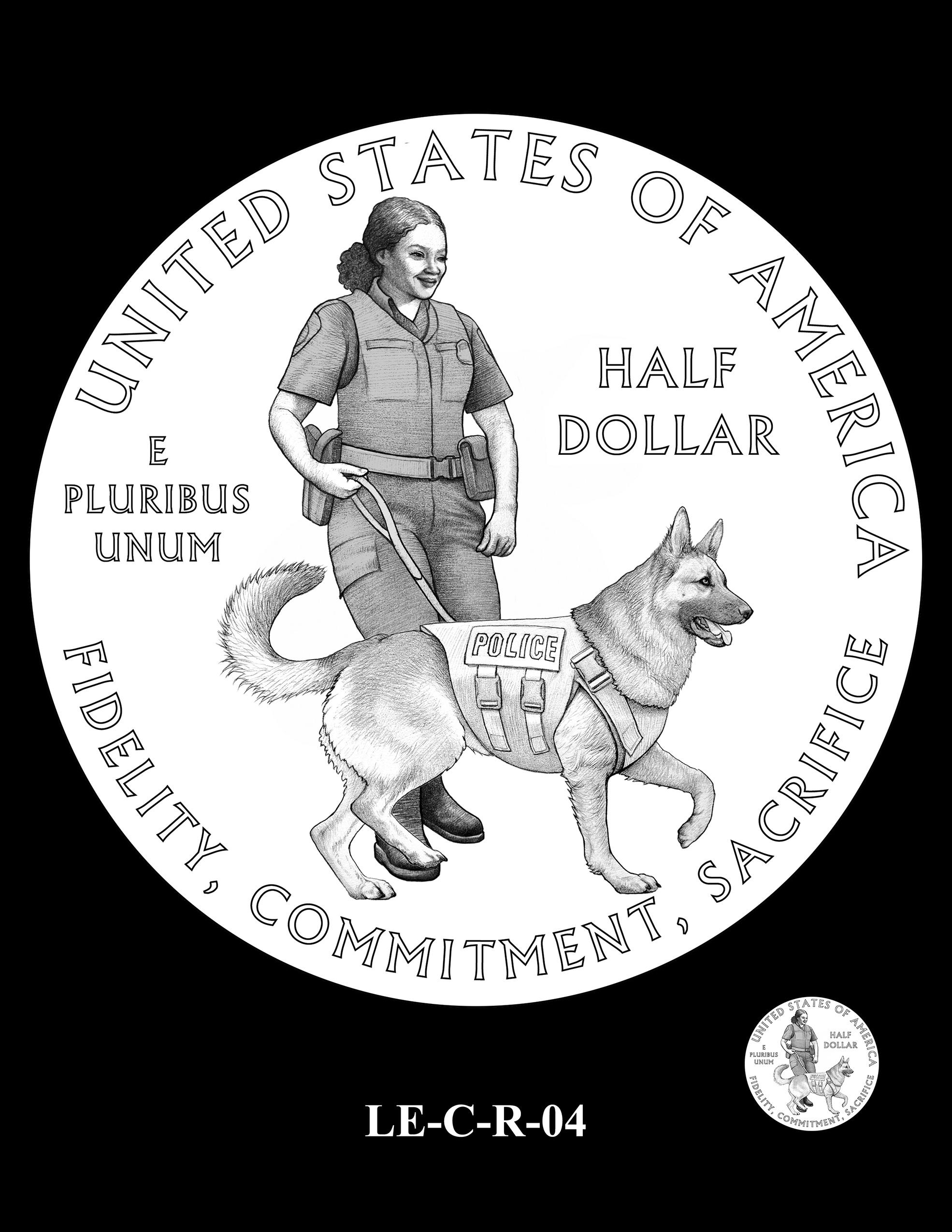 LE-C-R-04 -- National Law Enforcement Museum Commemorative Coin Program
