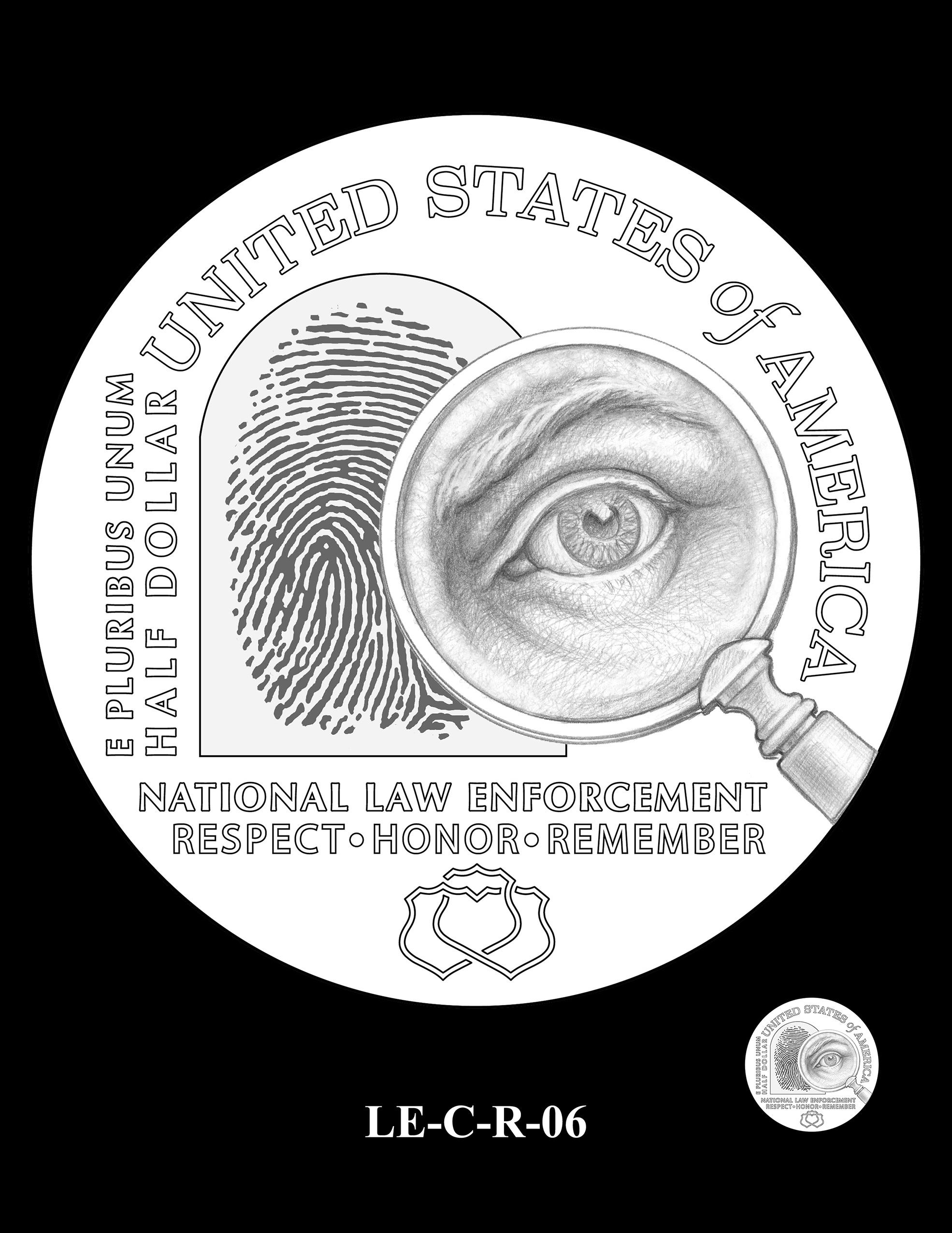 LE-C-R-06 -- National Law Enforcement Museum Commemorative Coin Program