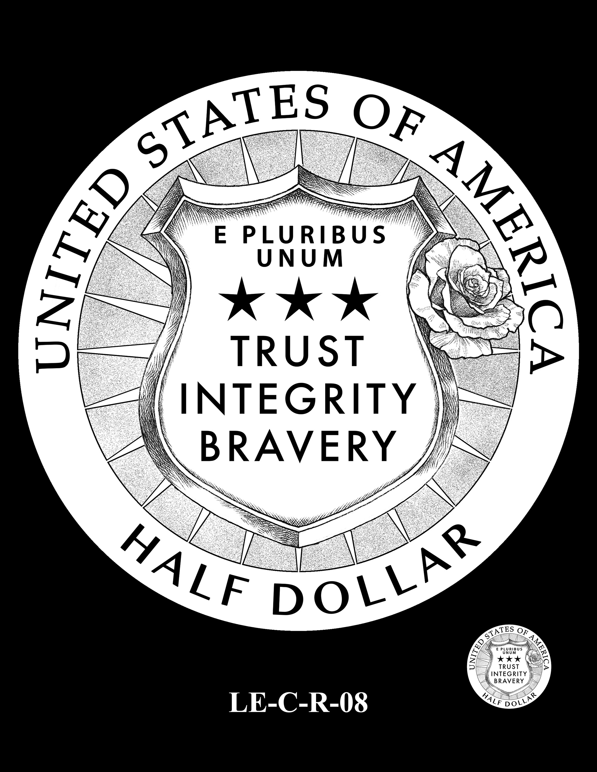 LE-C-R-08 -- National Law Enforcement Museum Commemorative Coin Program