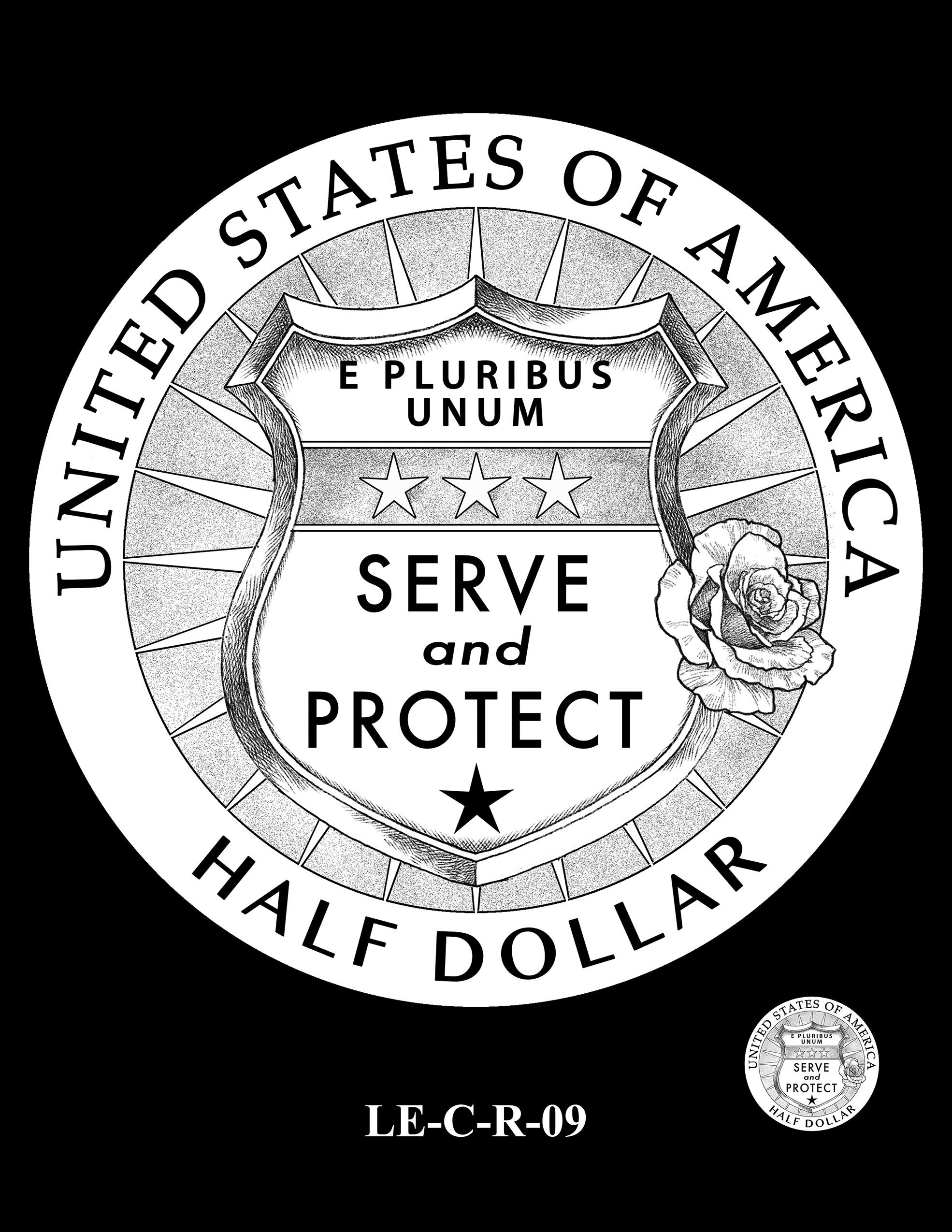 LE-C-R-09 -- National Law Enforcement Museum Commemorative Coin Program