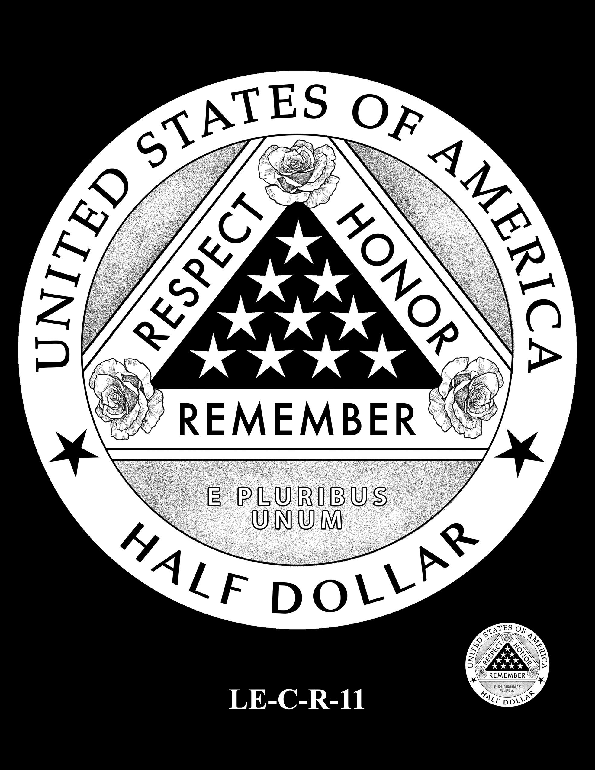 LE-C-R-11 -- National Law Enforcement Museum Commemorative Coin Program