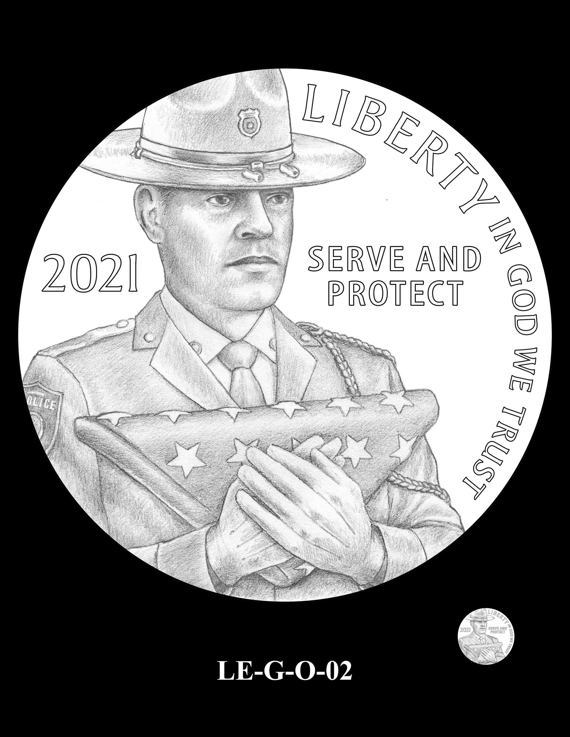 LE-G-O-02 -- National Law Enforcement Museum Commemorative Coin Program