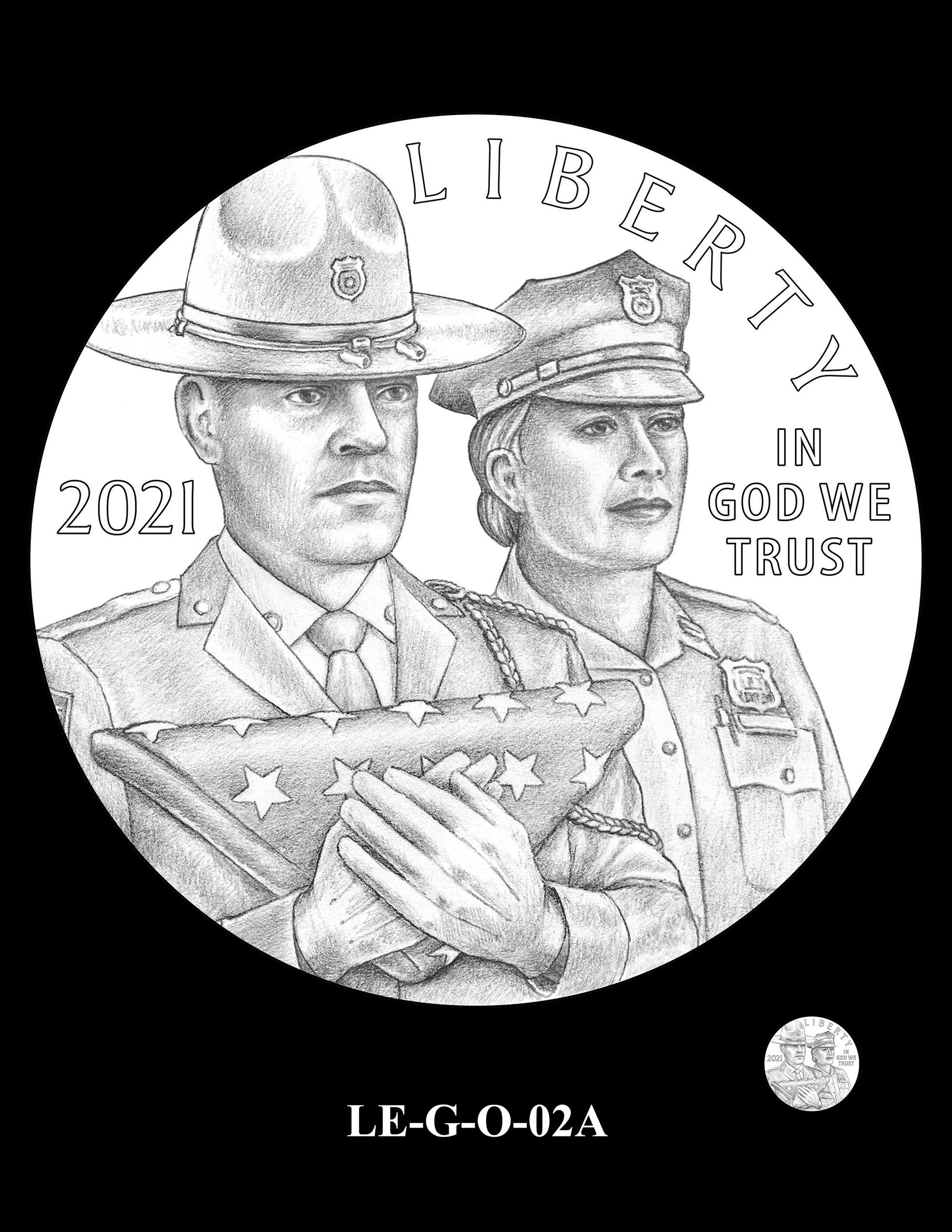 LE-G-O-02A -- National Law Enforcement Museum Commemorative Coin Program