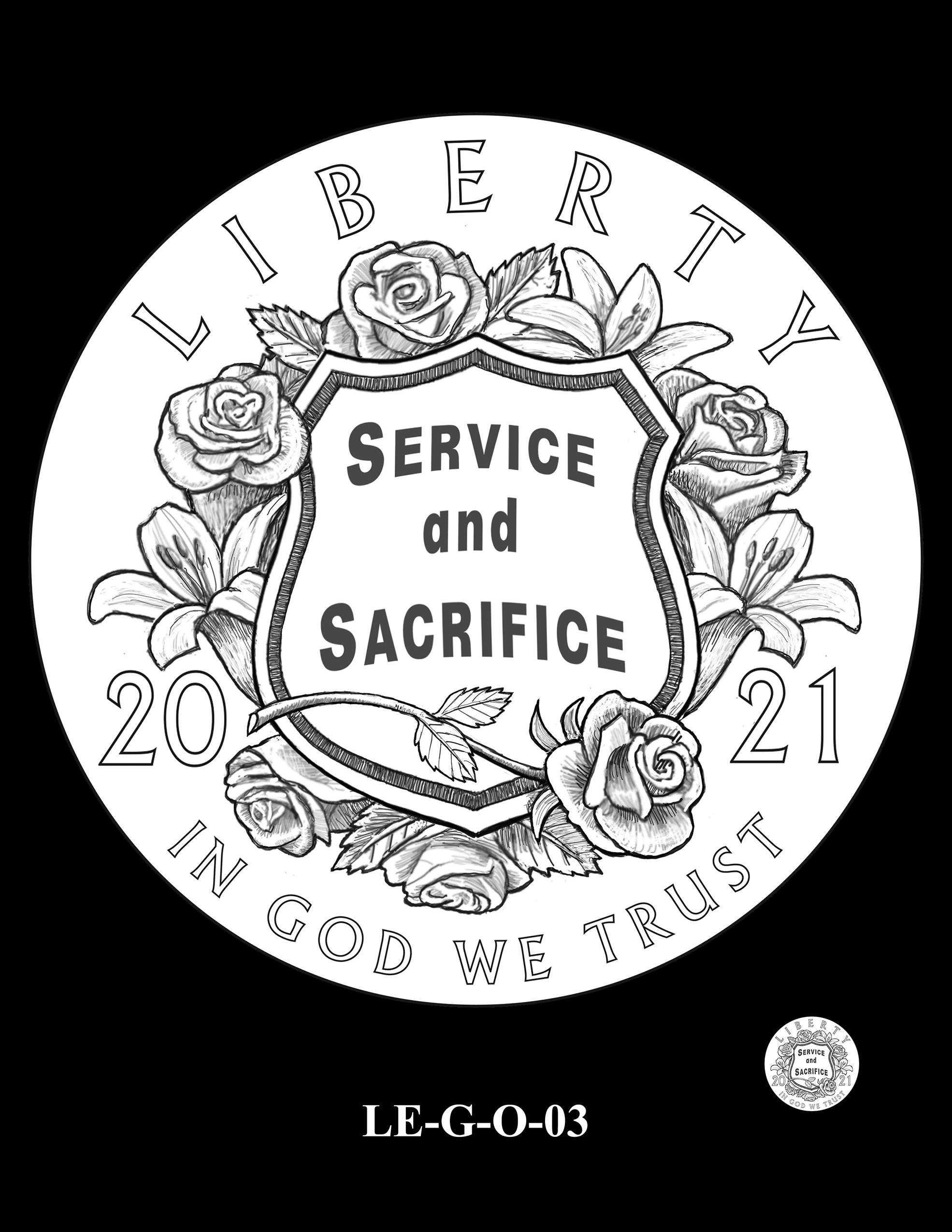 LE-G-O-03 -- National Law Enforcement Museum Commemorative Coin Program
