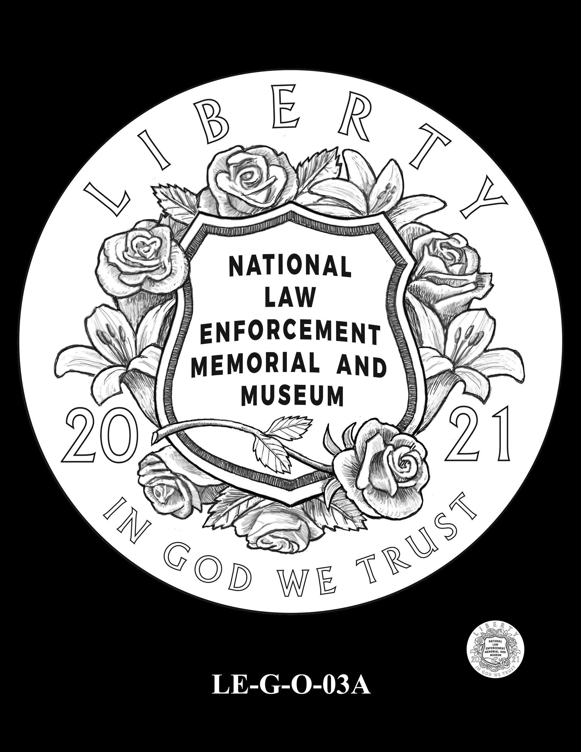 LE-G-O-03A -- National Law Enforcement Museum Commemorative Coin Program