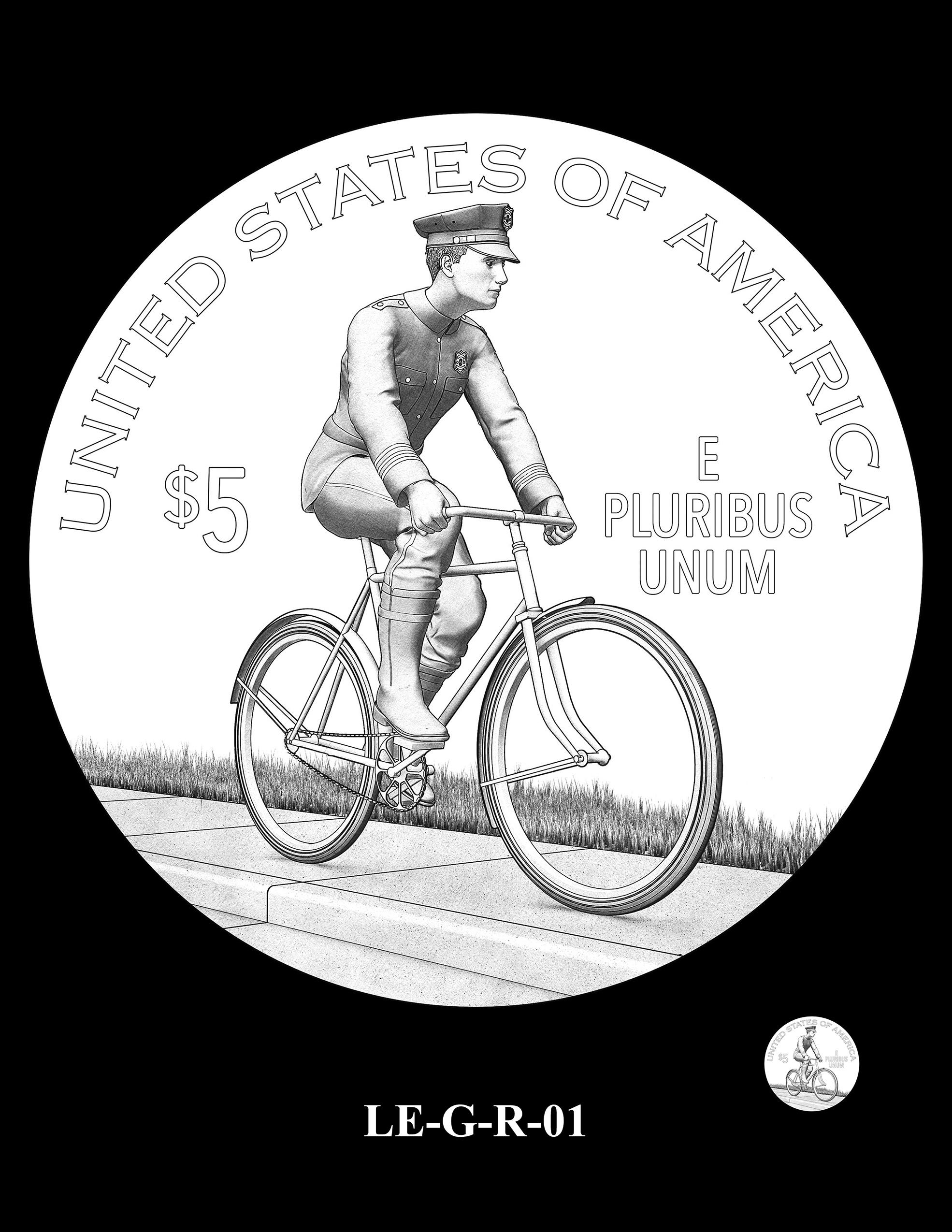LE-G-R-01 -- National Law Enforcement Museum Commemorative Coin Program