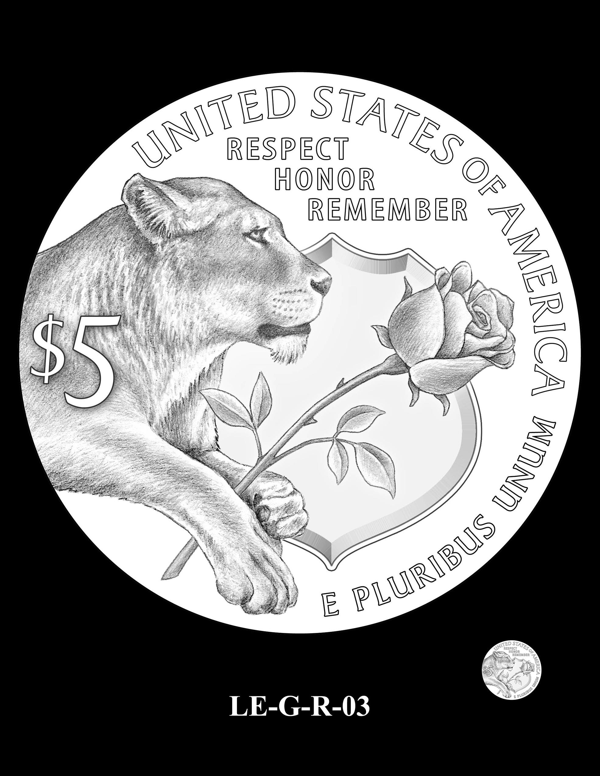 LE-G-R-03 -- National Law Enforcement Museum Commemorative Coin Program