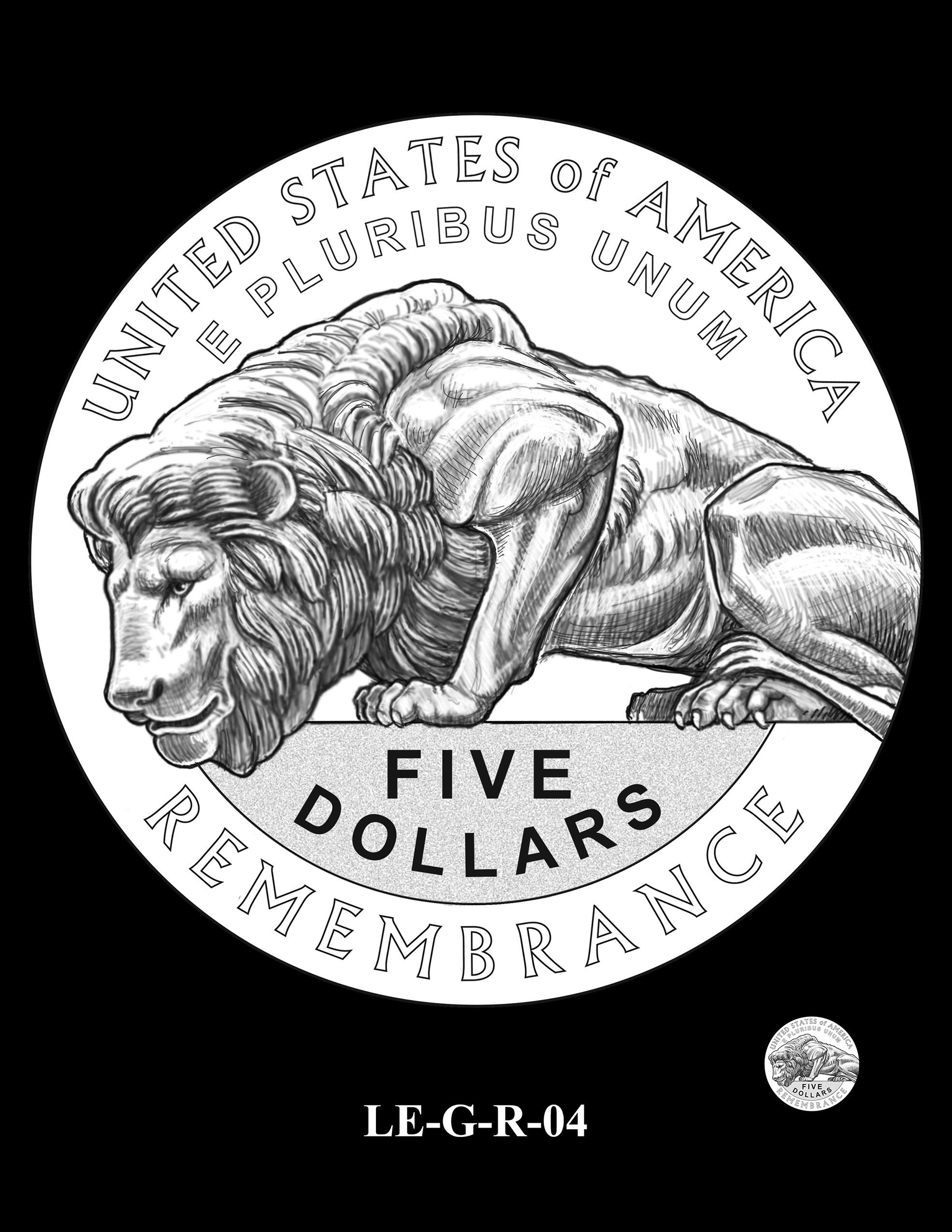 LE-G-R-04 -- National Law Enforcement Museum Commemorative Coin Program