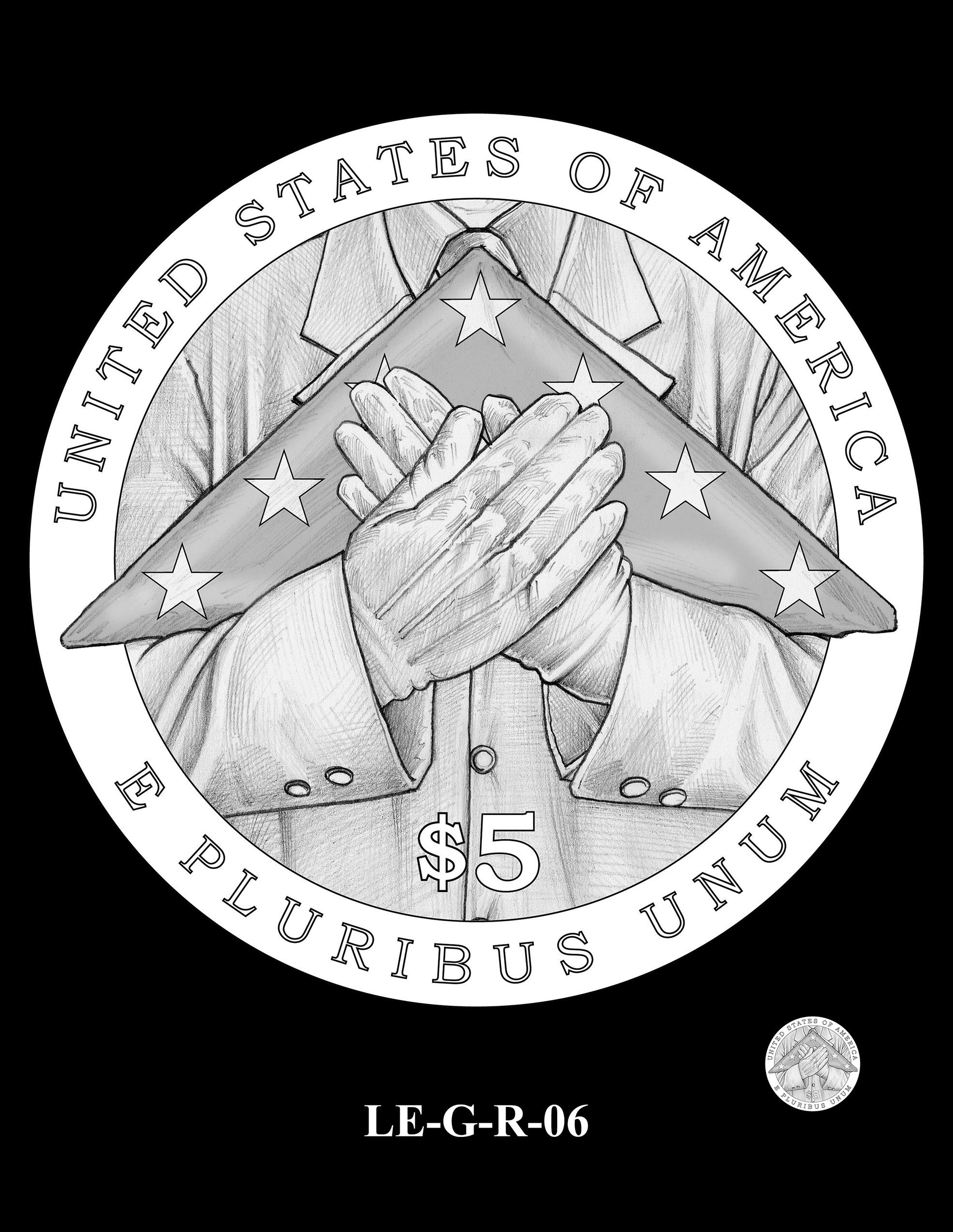 LE-G-R-06 -- National Law Enforcement Museum Commemorative Coin Program