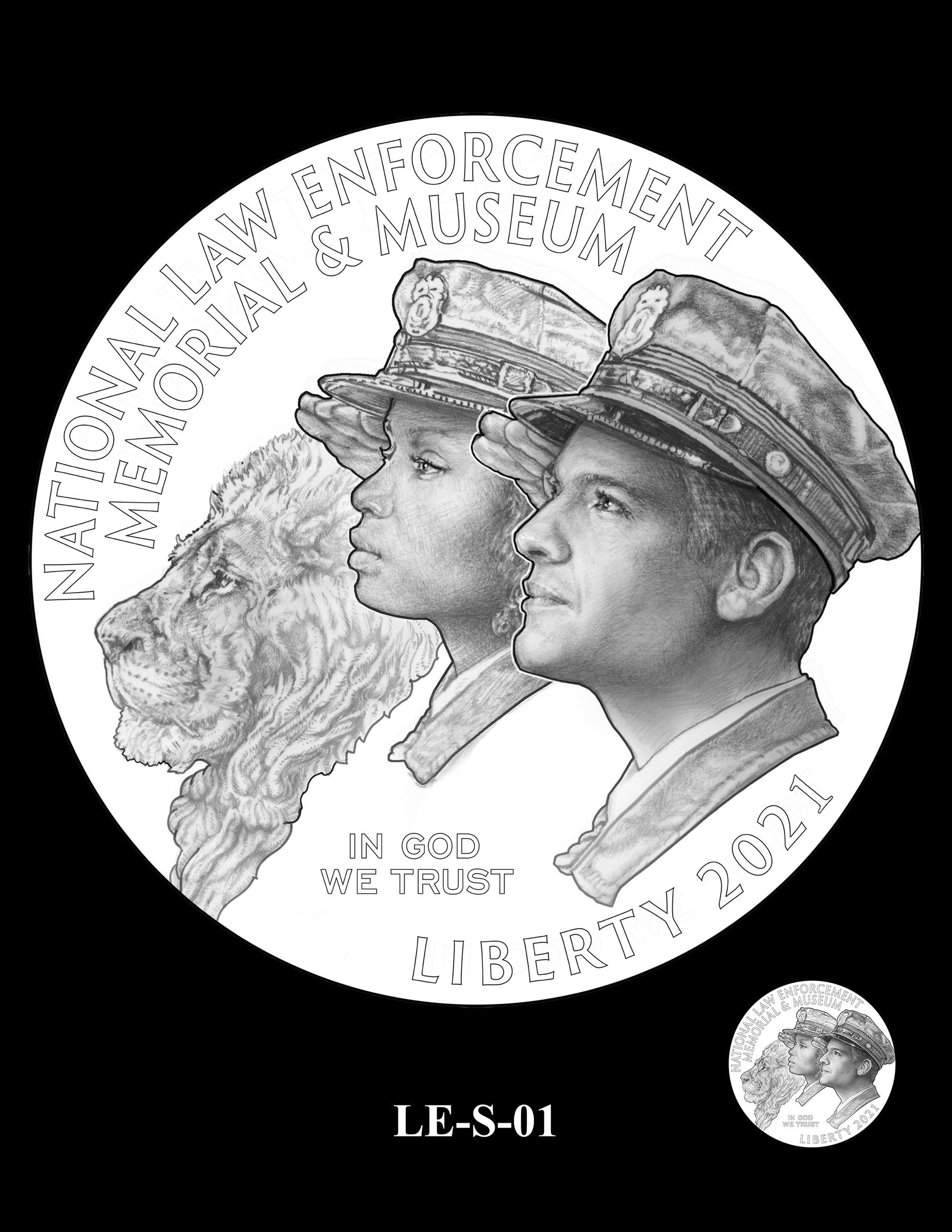 LE-S-O-01 -- National Law Enforcement Museum Commemorative Coin Program