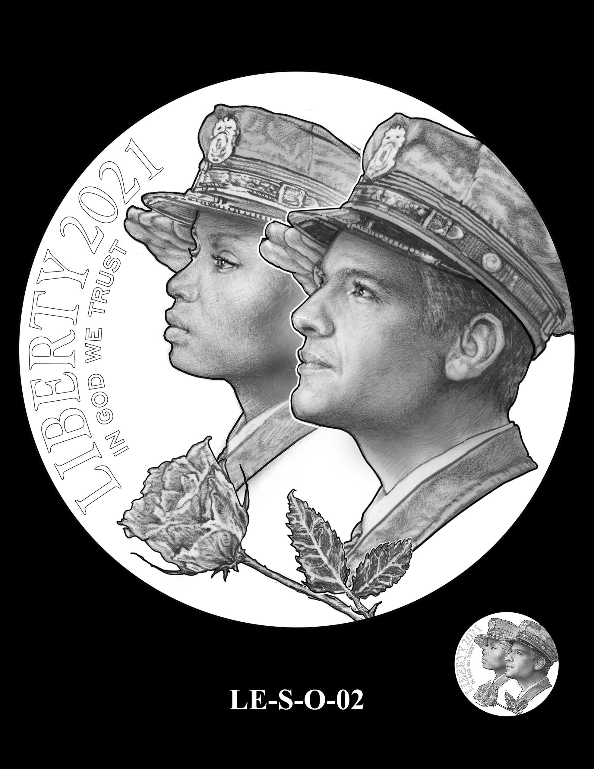 LE-S-O-02 -- National Law Enforcement Museum Commemorative Coin Program