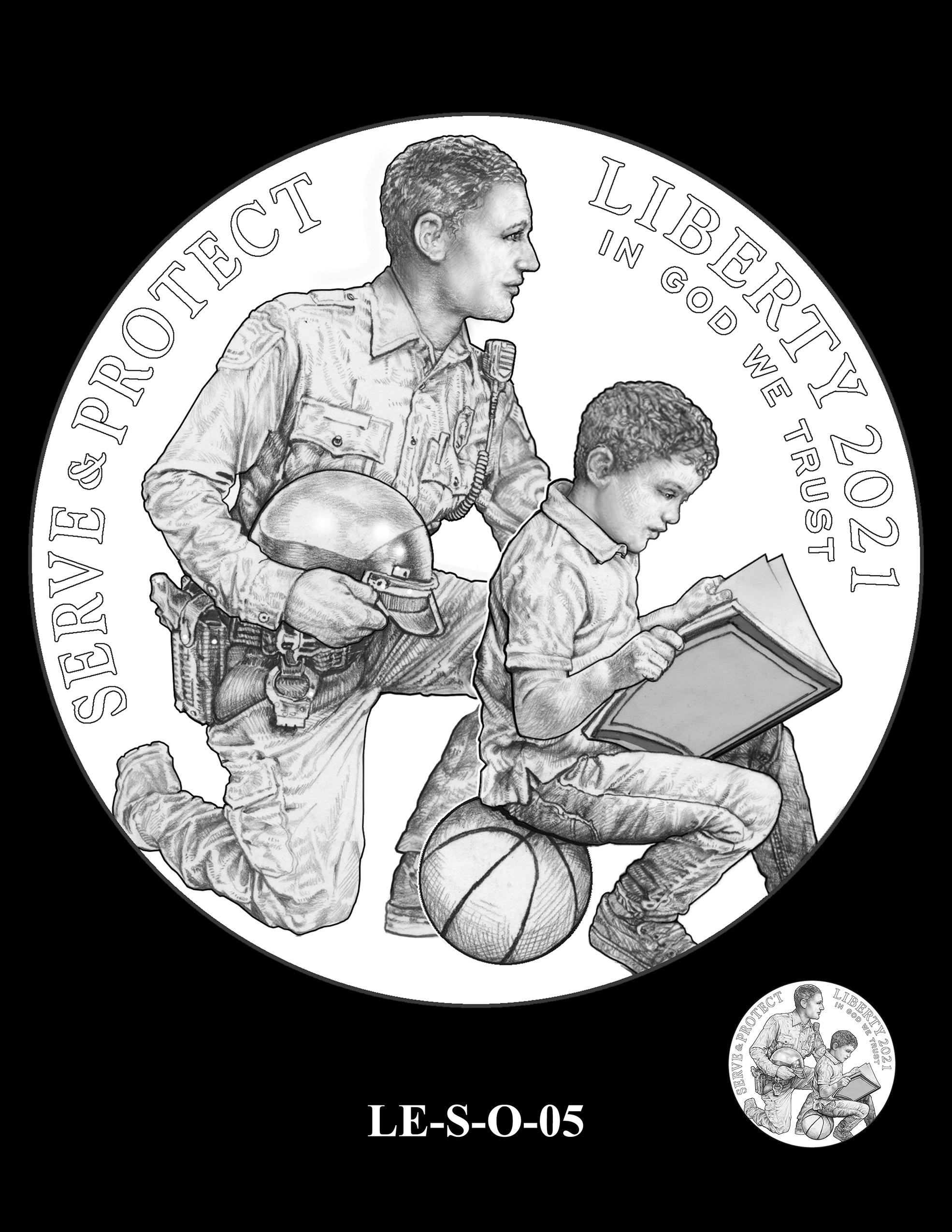 LE-S-O-05 -- National Law Enforcement Museum Commemorative Coin Program