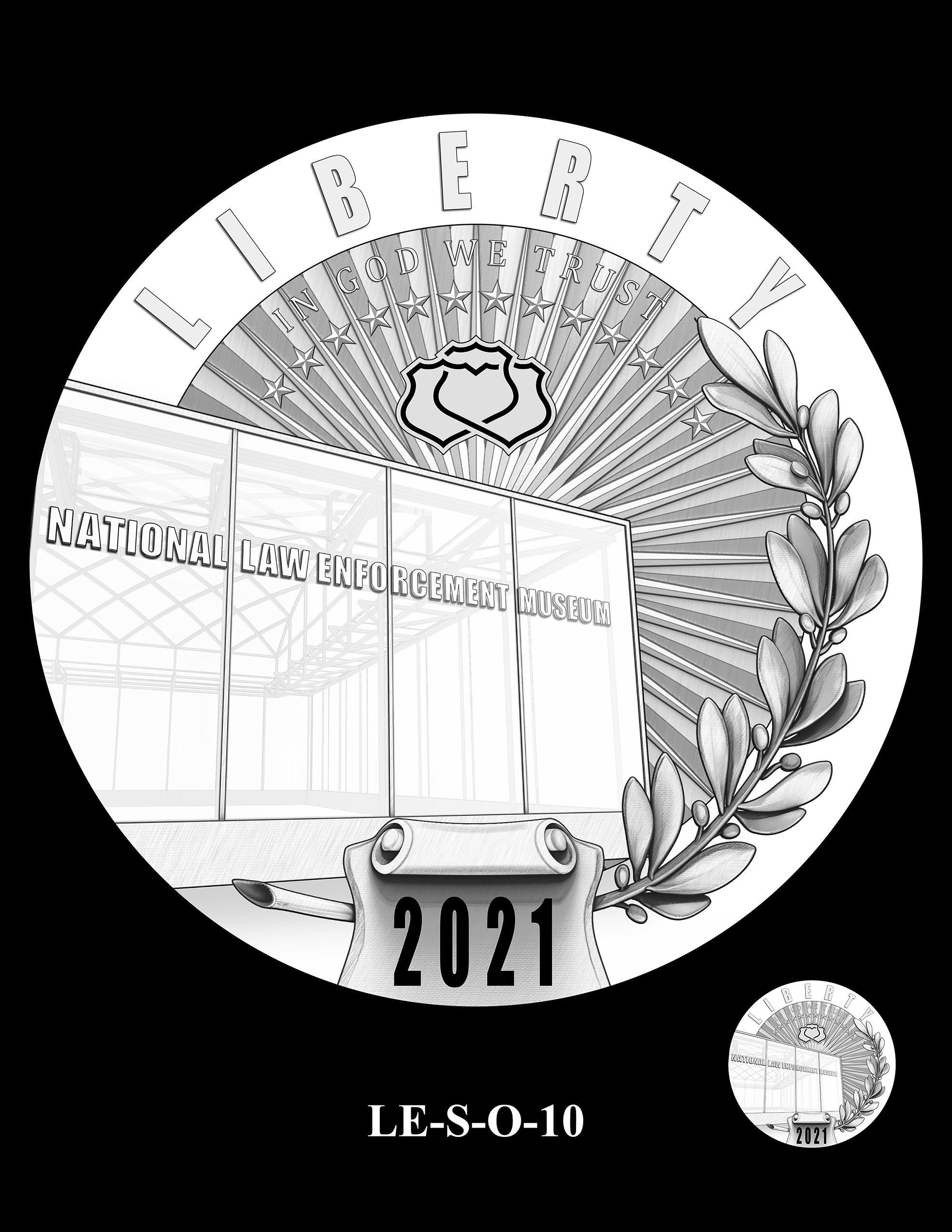 LE-S-O-10 -- National Law Enforcement Museum Commemorative Coin Program