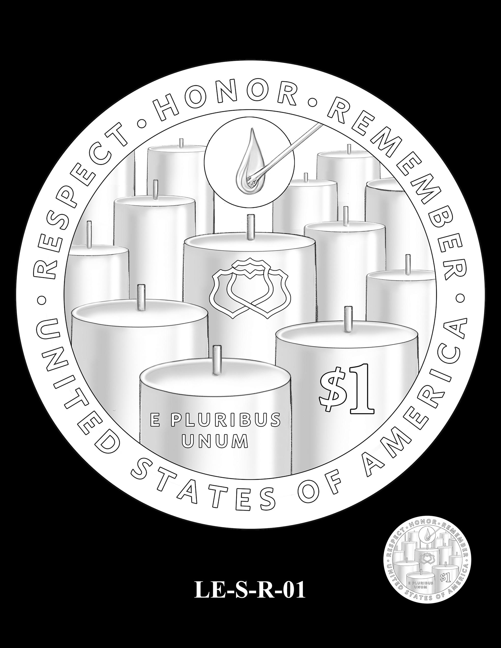 LE-S-R-01 -- National Law Enforcement Museum Commemorative Coin Program
