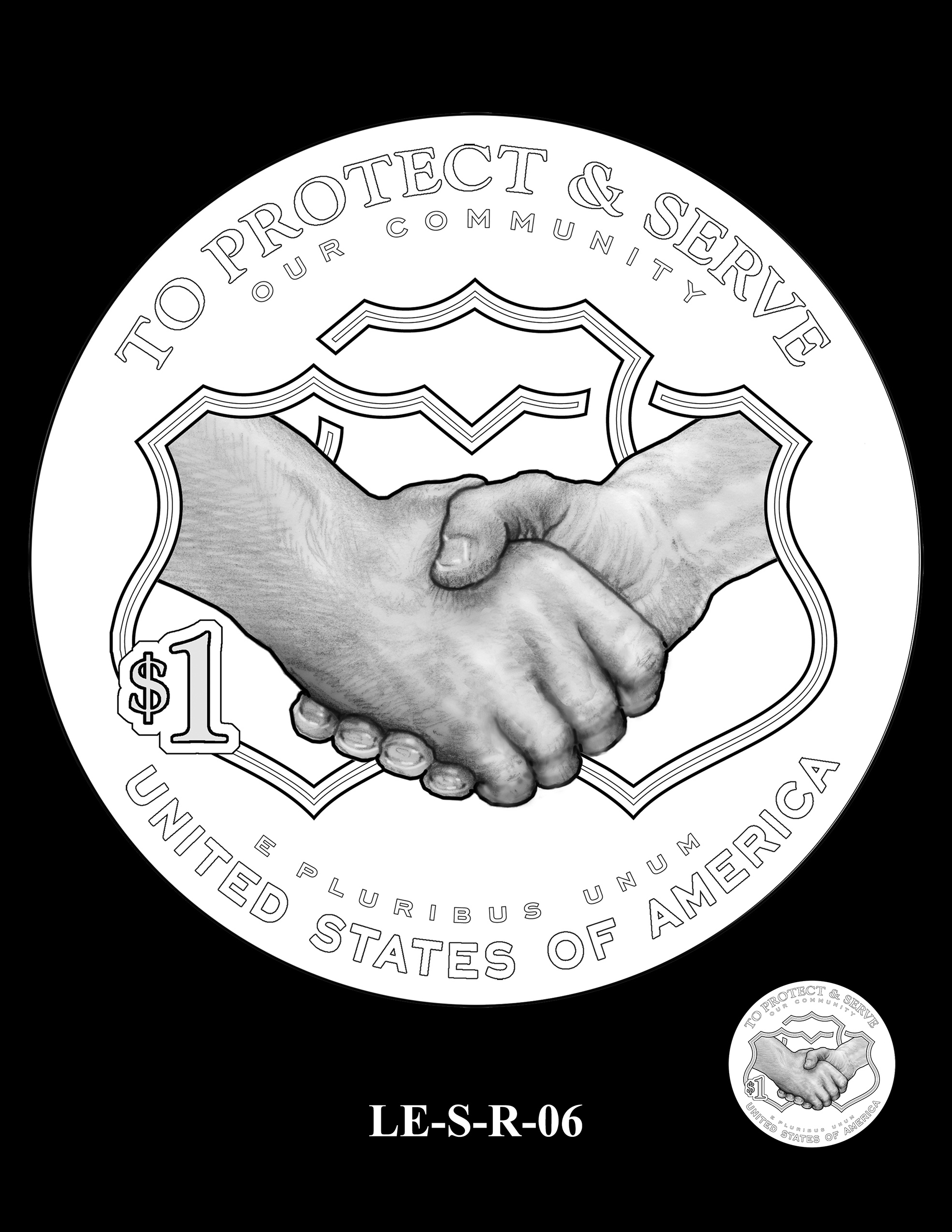 LE-S-R-06 -- National Law Enforcement Museum Commemorative Coin Program