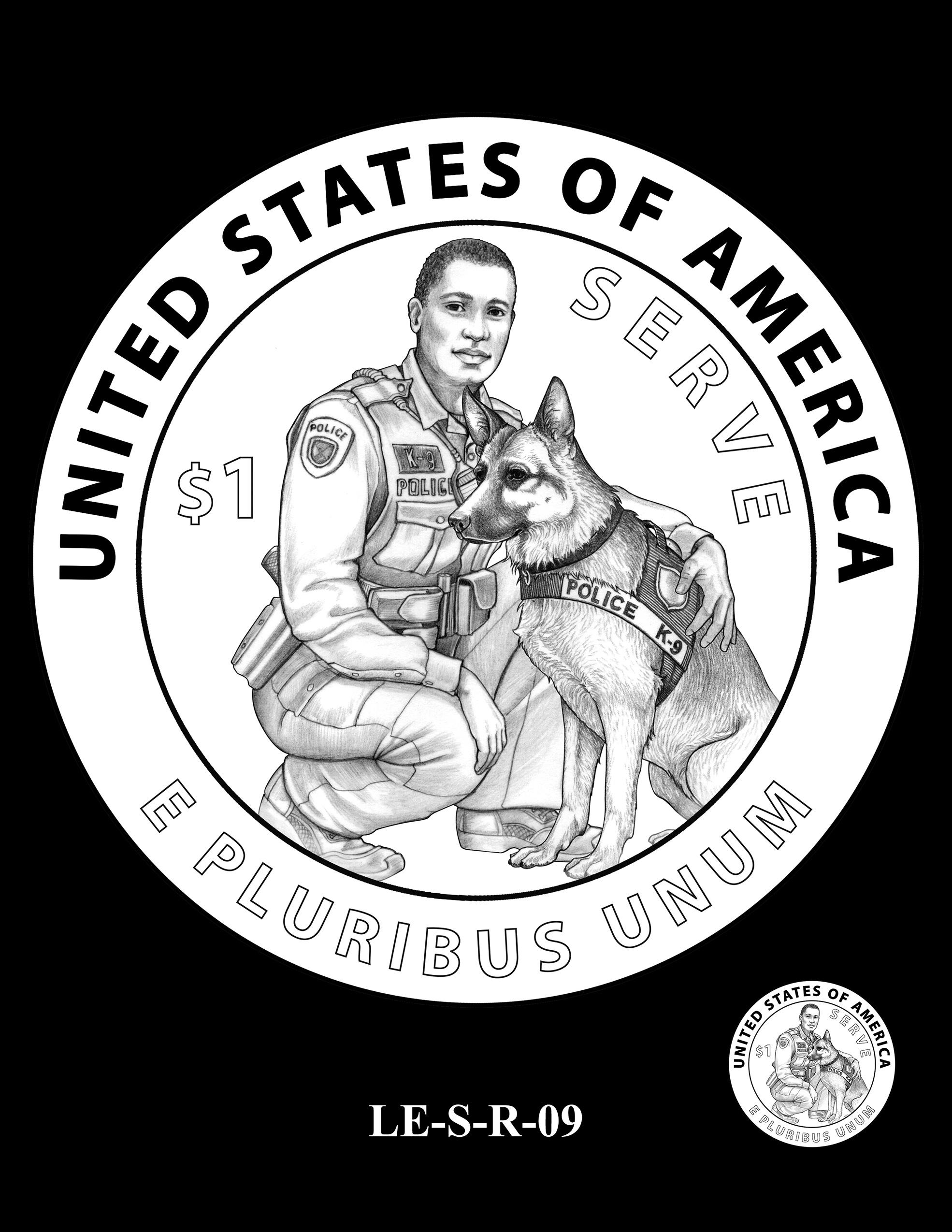 LE-S-R-09 -- National Law Enforcement Museum Commemorative Coin Program