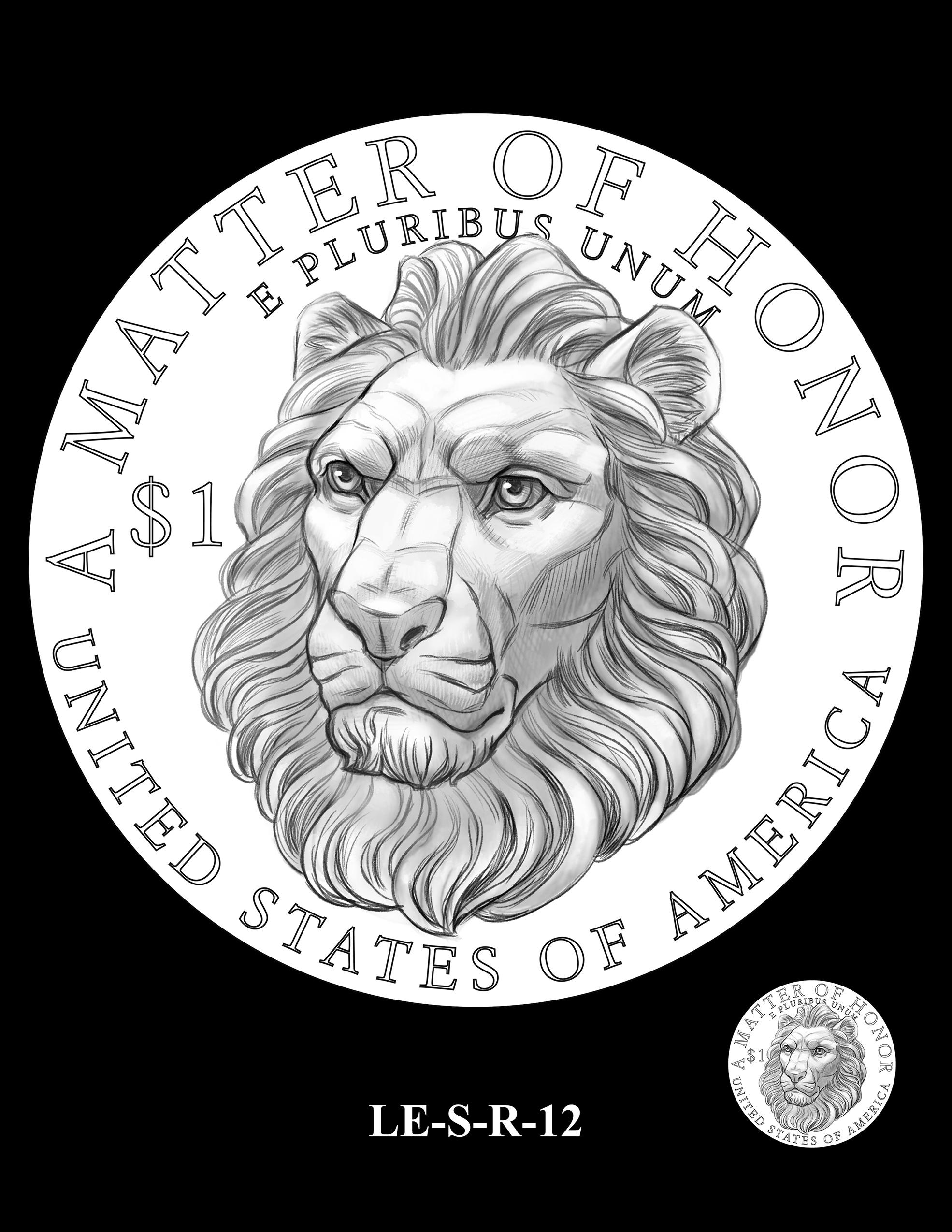 LE-S-R-12 -- National Law Enforcement Museum Commemorative Coin Program