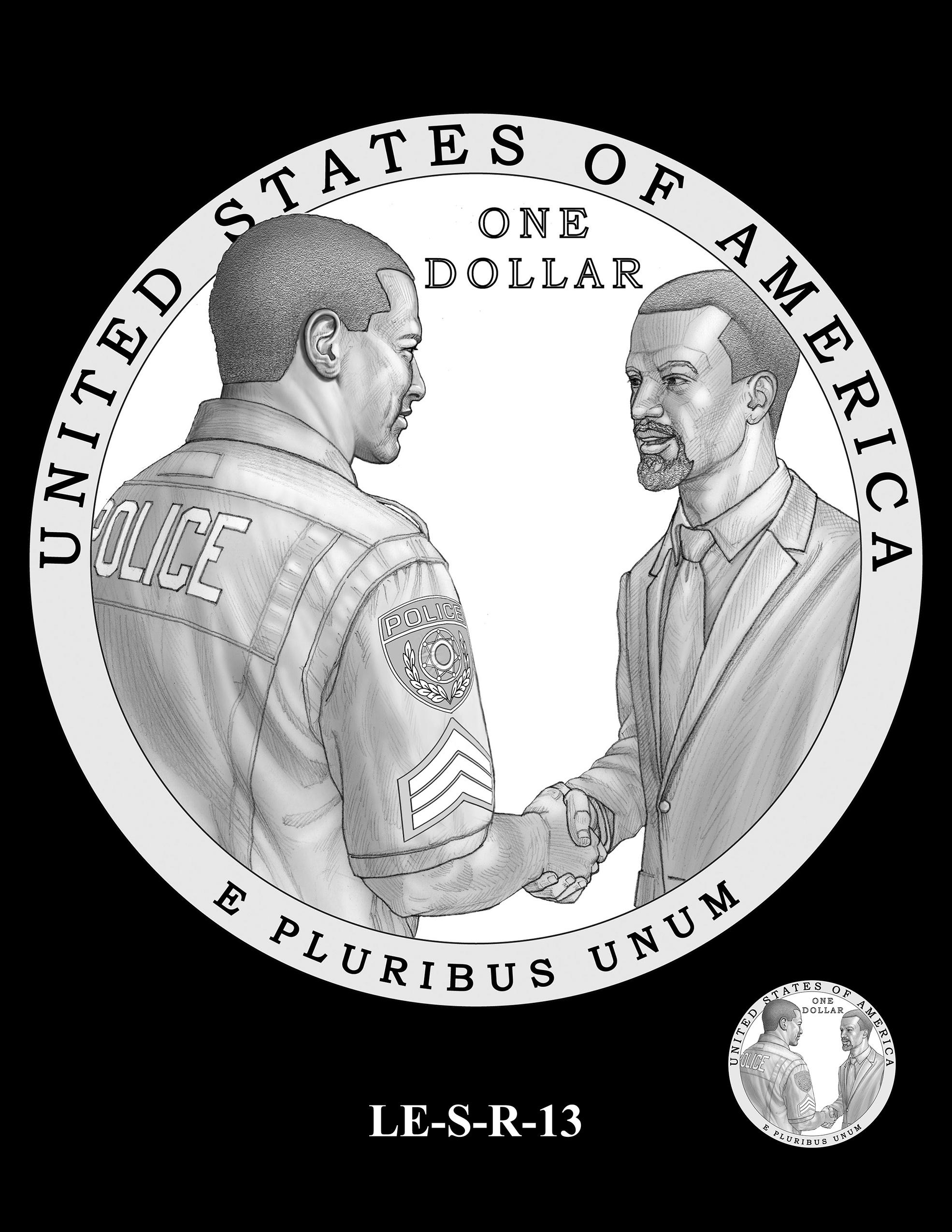 LE-S-R-13 -- National Law Enforcement Museum Commemorative Coin Program